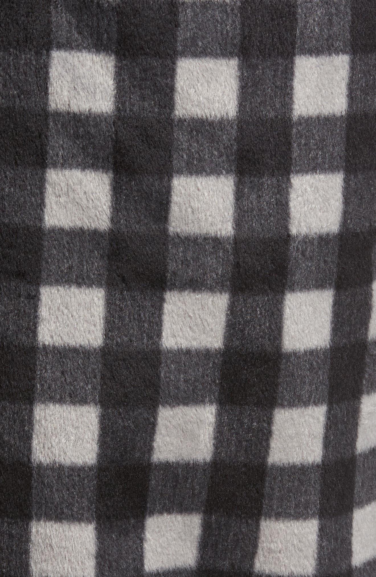 Fleece Lounge Pants,                             Alternate thumbnail 5, color,                             Grey December- Black Buffalo