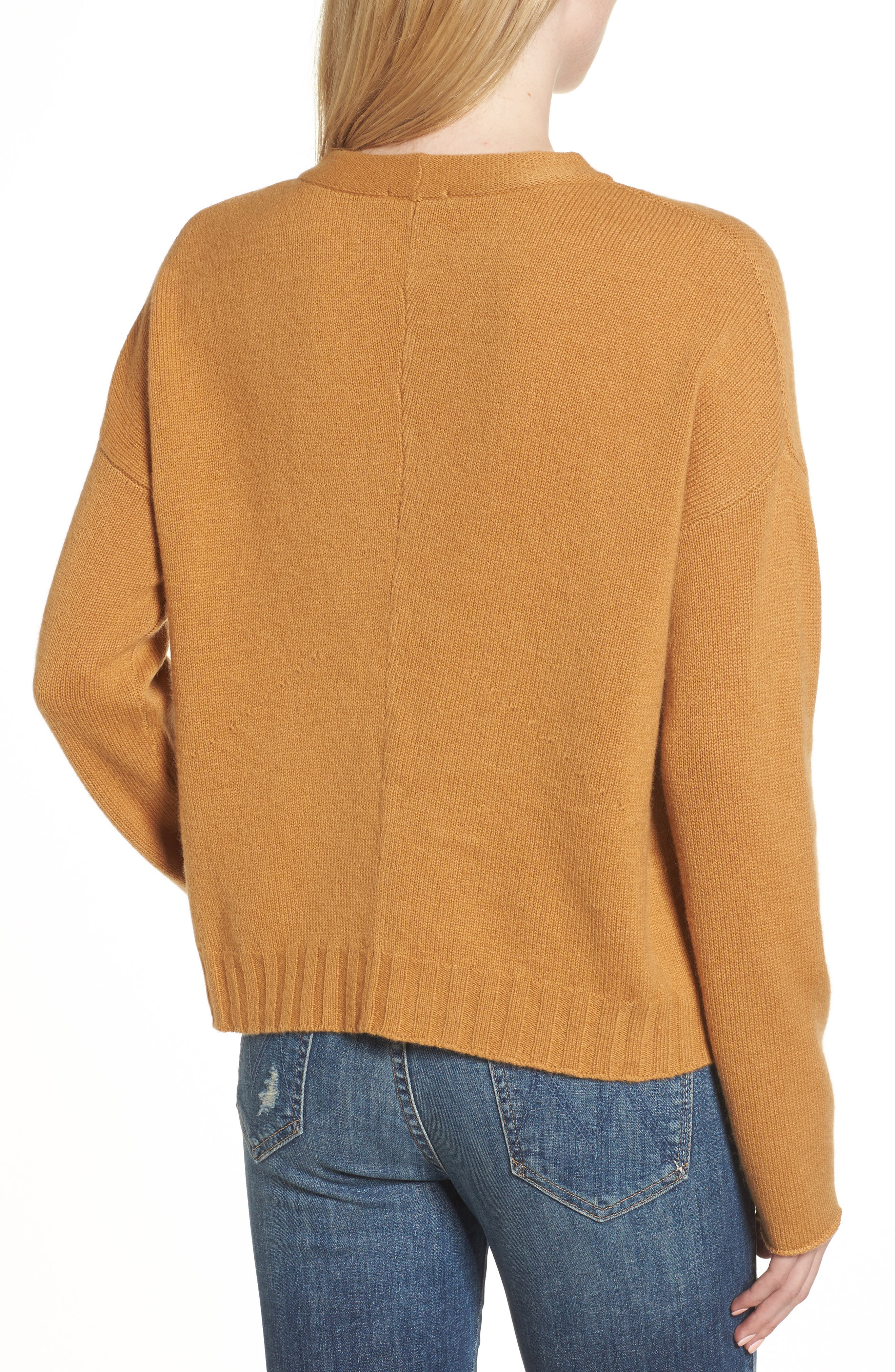 Alternate Image 2  - Rails Joanna Wool & Cashmere Sweater