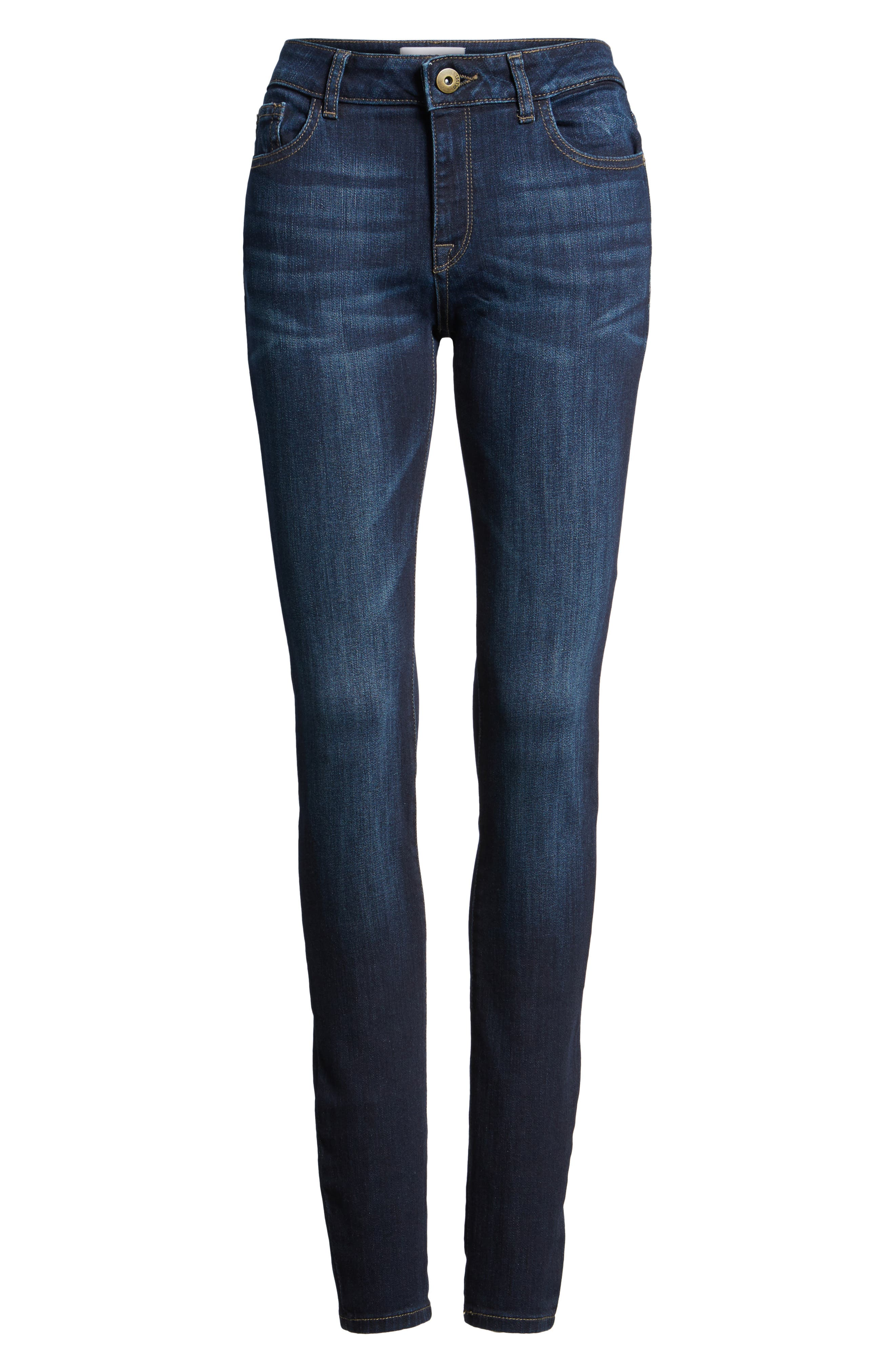 'Danny' Instasculpt Skinny Jeans,                             Alternate thumbnail 6, color,                             Pulse