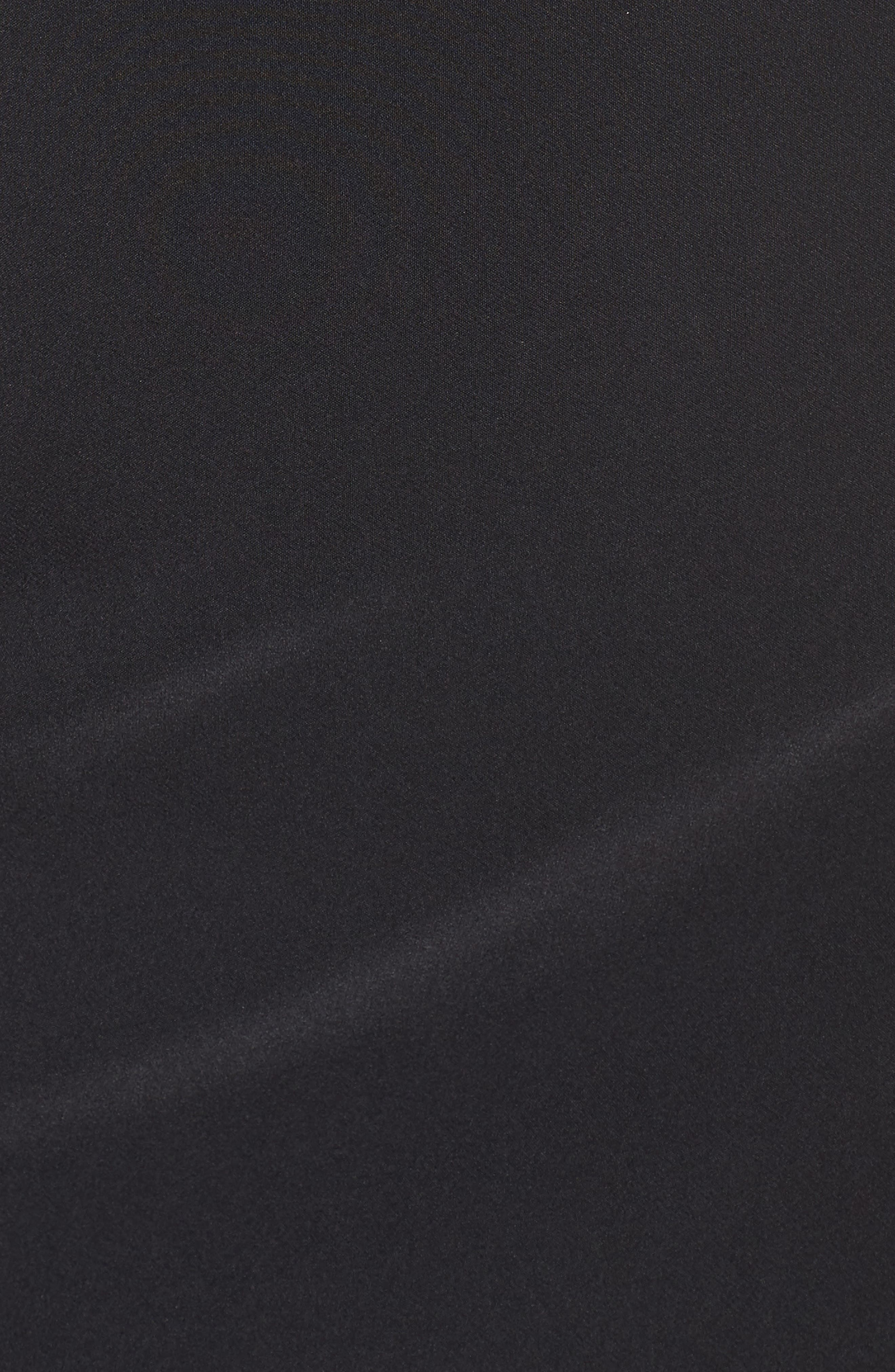 Alternate Image 5  - Maria Bianca Nero Lace Front Sheath Dress