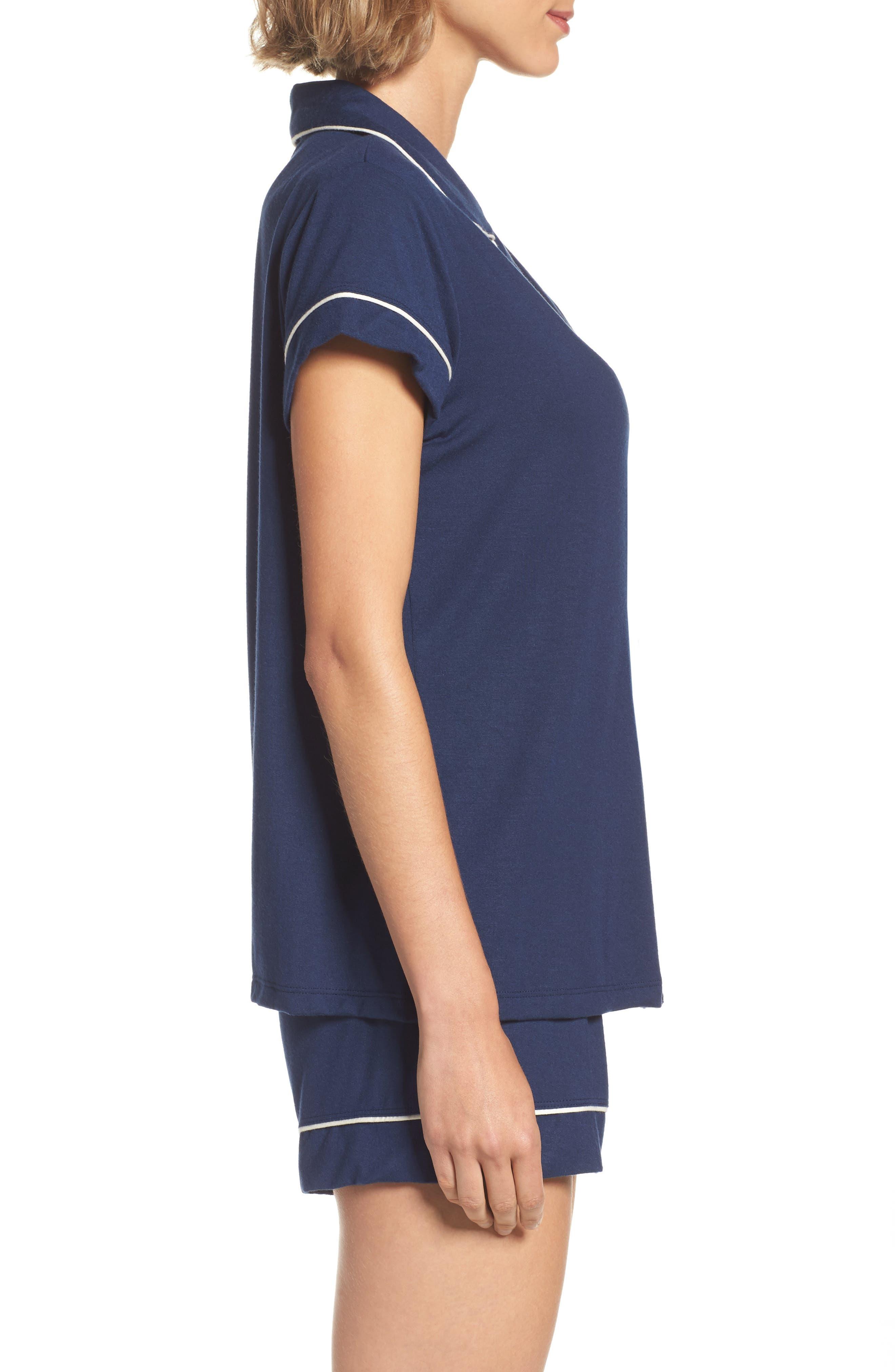 Alternate Image 3  - Eberjey 'Gisele' Shorty Pajamas