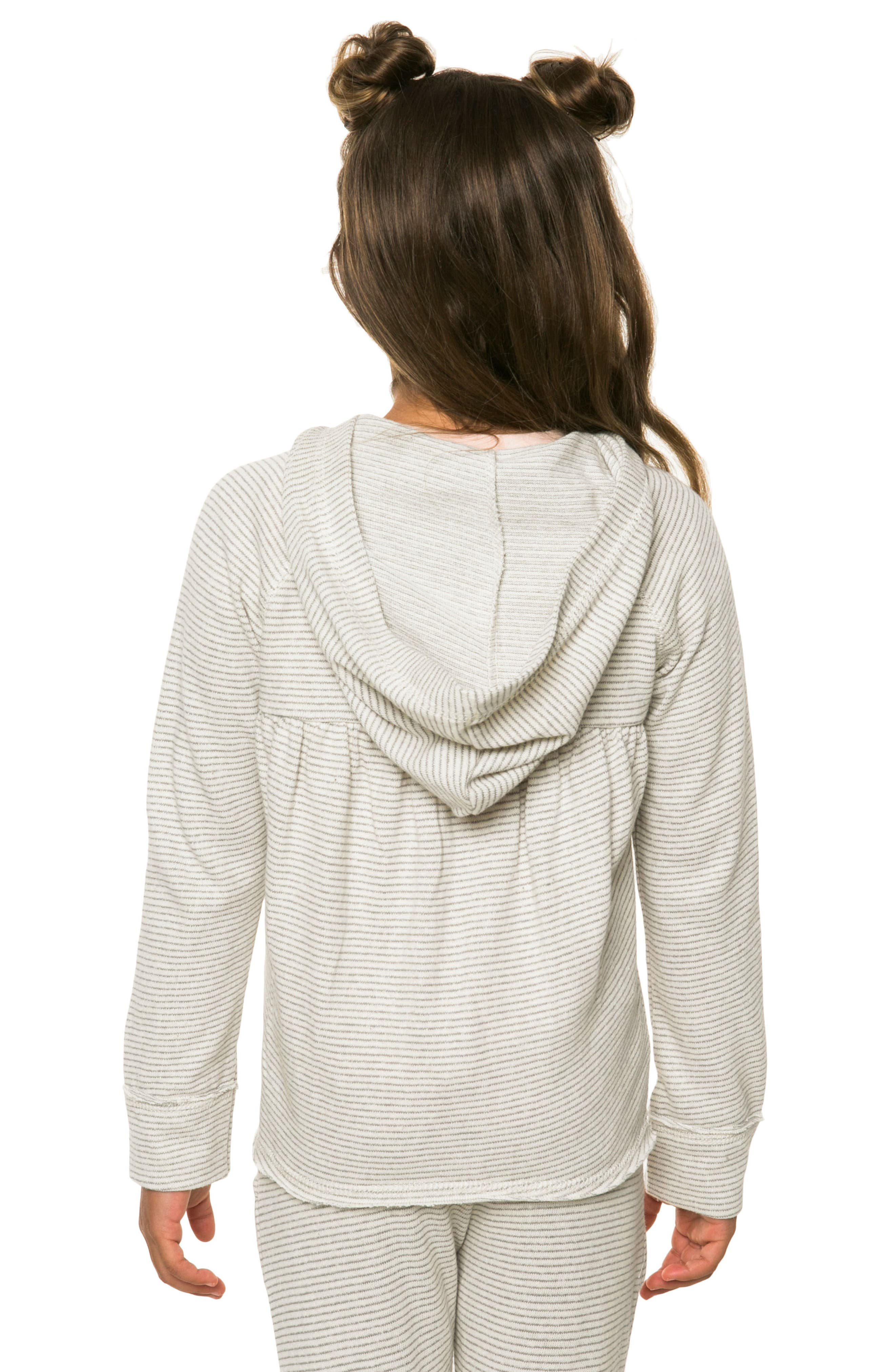 Shore French Terry Hoodie,                             Alternate thumbnail 3, color,                             Grey - Gry