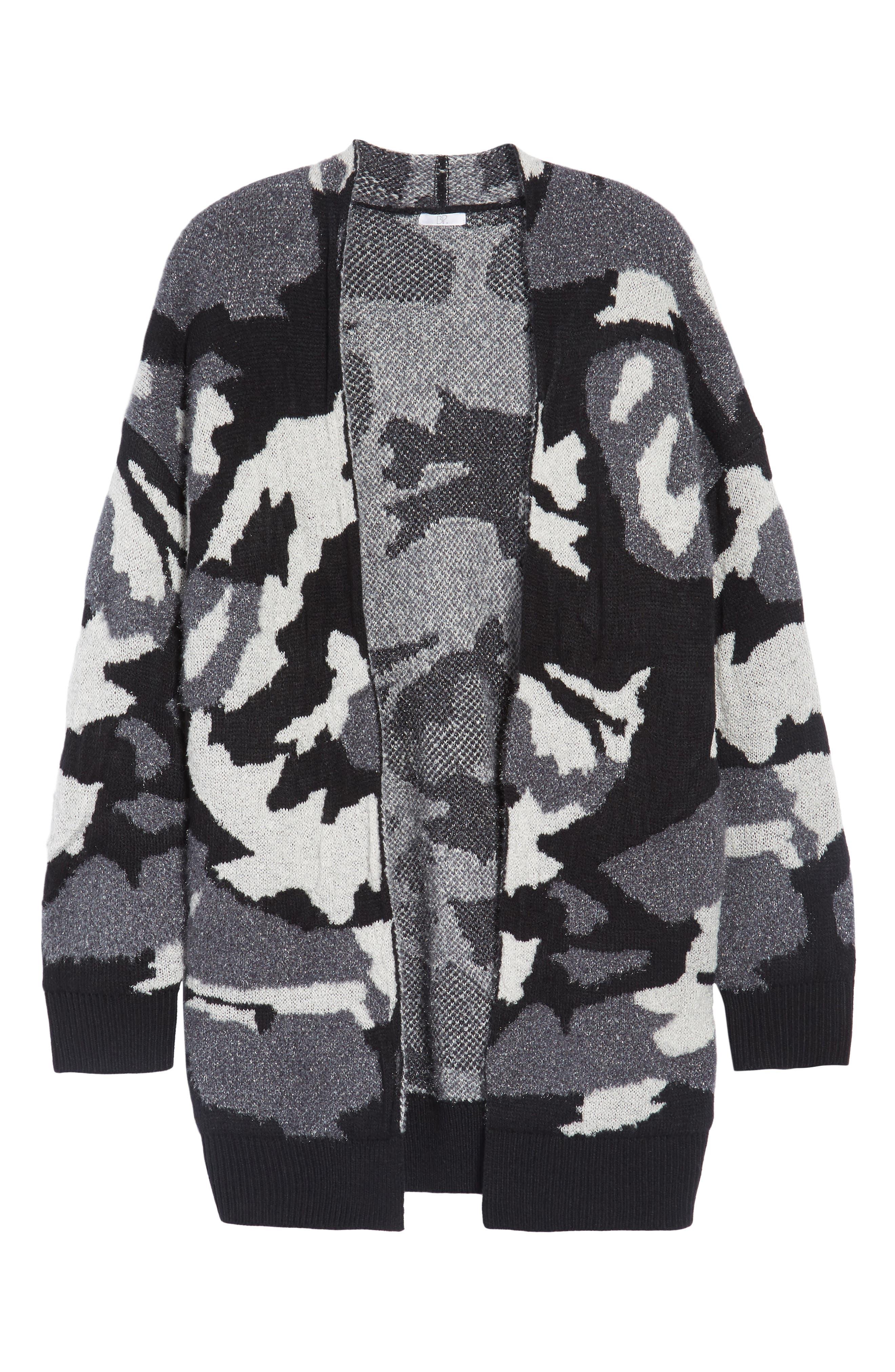 Alternate Image 6  - BP. Camouflage Knit Cardigan