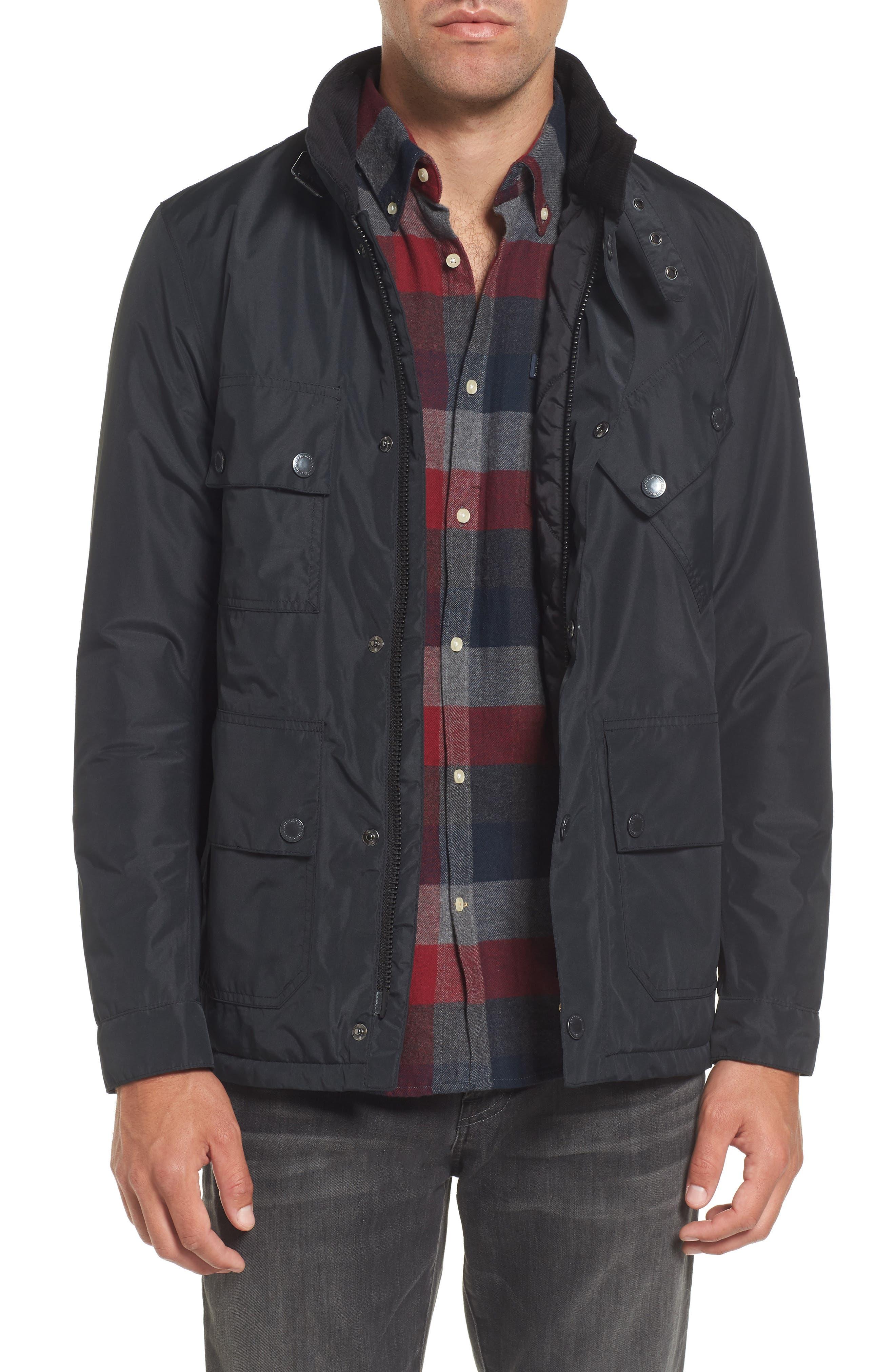 B.Intl Tyne Waterproof Jacket,                             Main thumbnail 1, color,                             Black