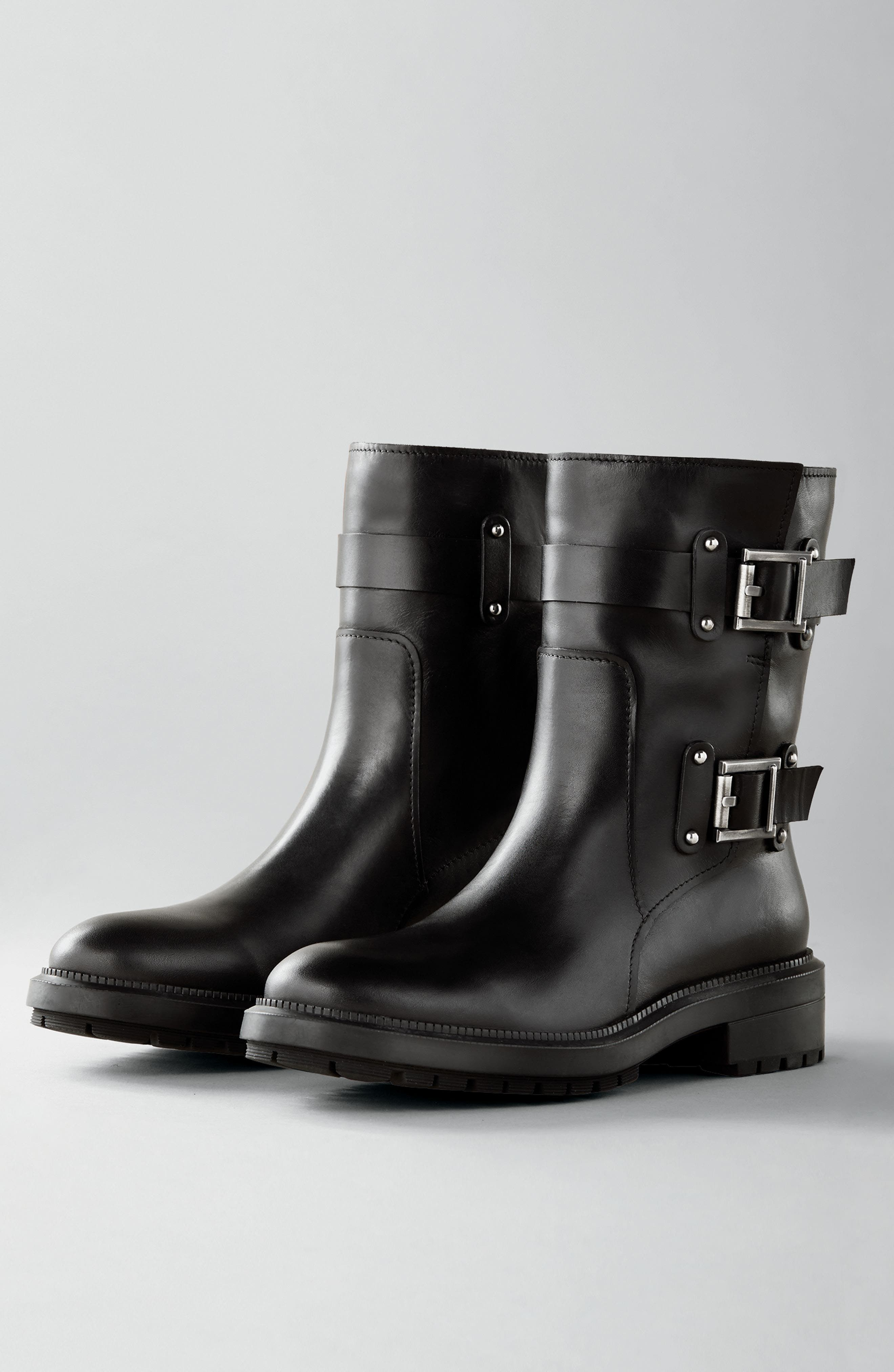 Leonie Weatherproof Leather Boot,                             Alternate thumbnail 2, color,