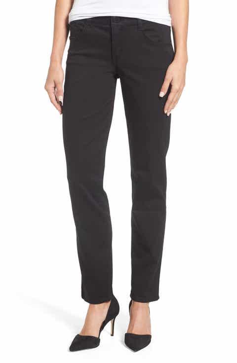 Wit & Wisdom Ab-solution Straight Leg Jeans (Nordstrom Exclusive) (Regular & Petite)