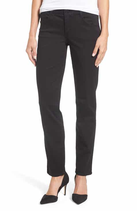 Wit & Wisdom Ab-solution Straight Leg Jeans (Nordstrom Exclusive) (Regular & Petite) by WIT AND WISDOM