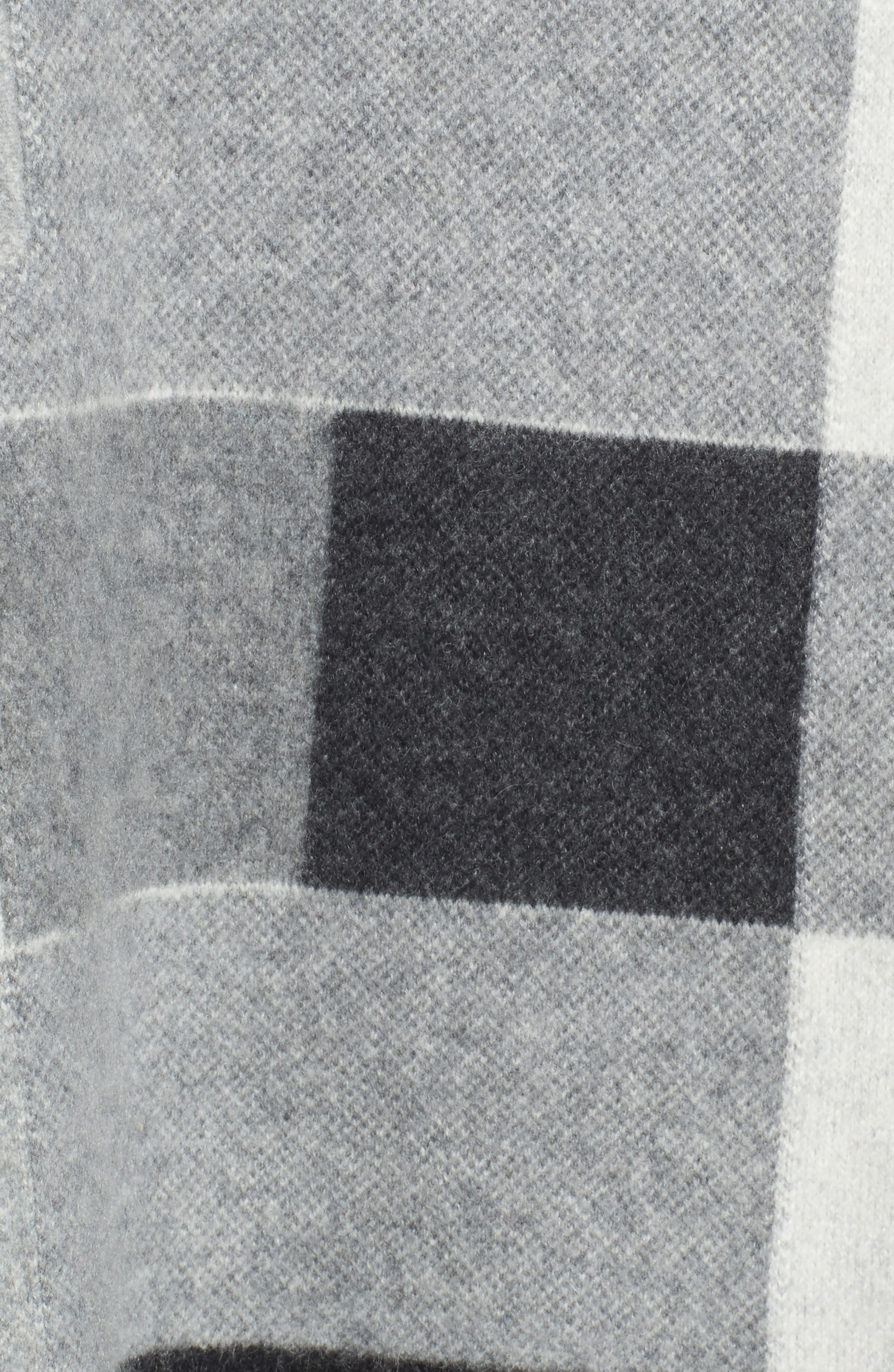 Alternate Image 5  - Nordstrom Signature Check Plaid Cashmere Sweater
