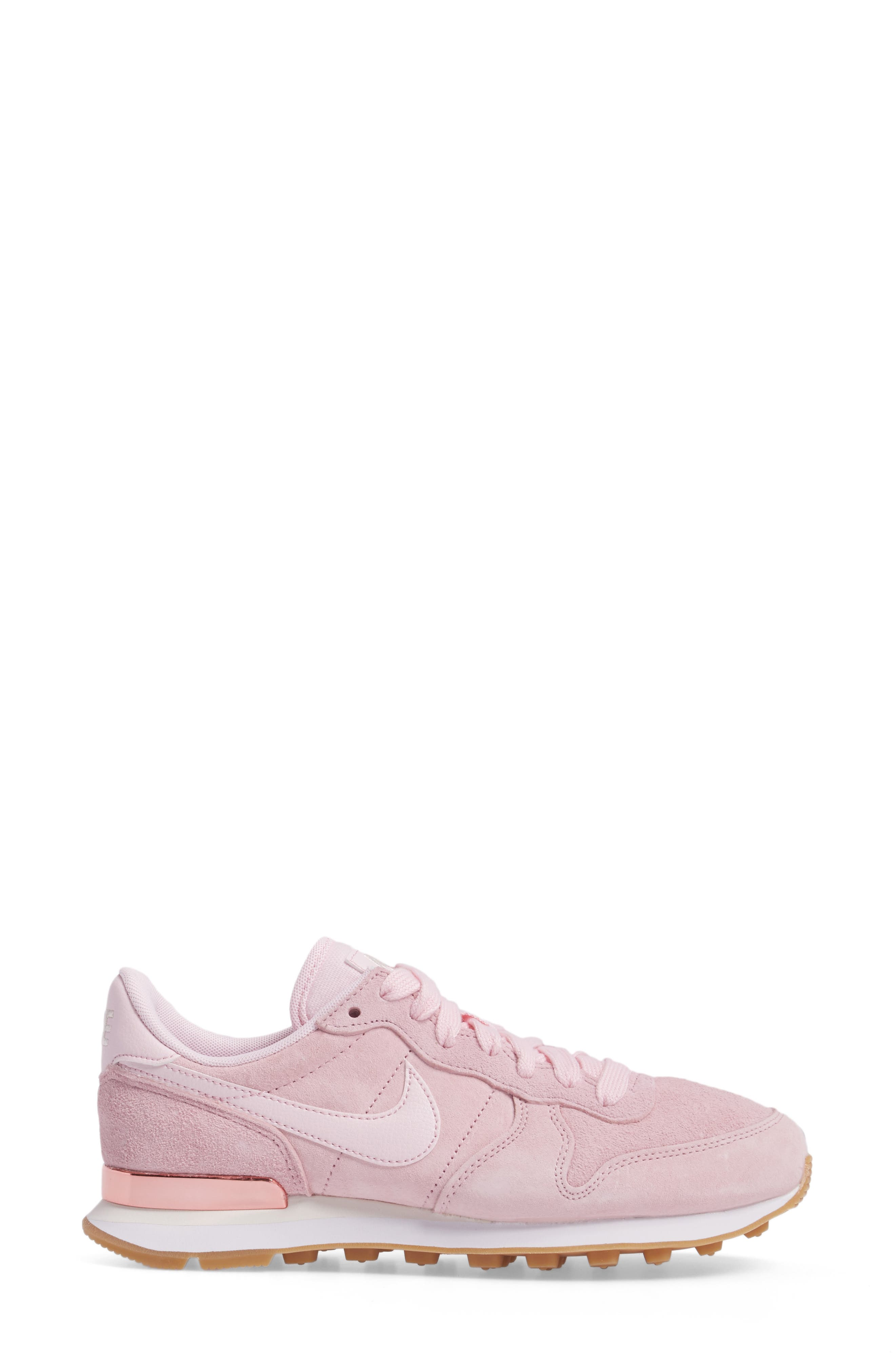 Internationalist SD Sneaker,                             Alternate thumbnail 3, color,                             Prism Pink/ Prism Pink