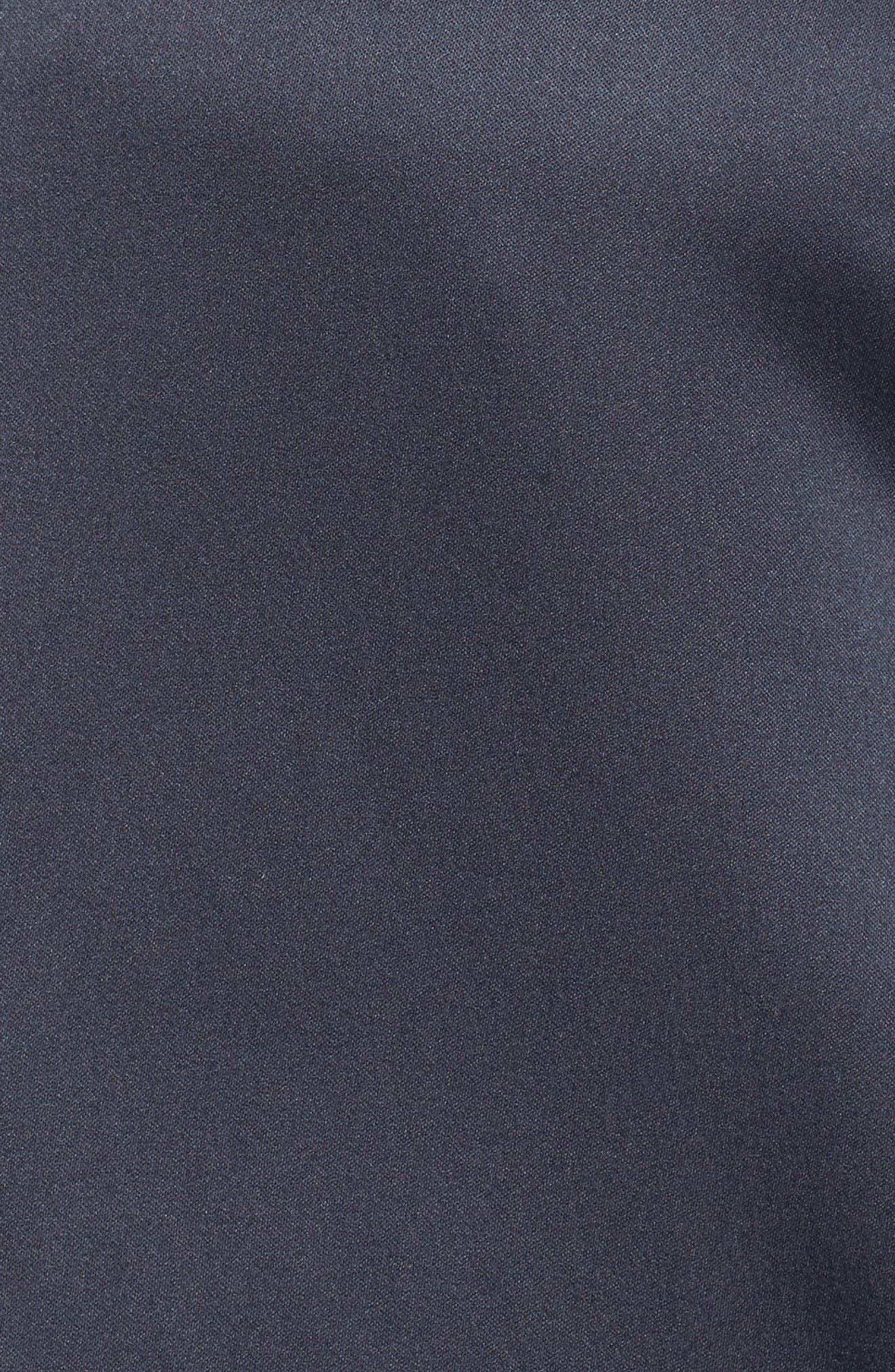 Alternate Image 5  - JUNAROSE Limba Tunic Length Bomber Jacket (Plus Size)