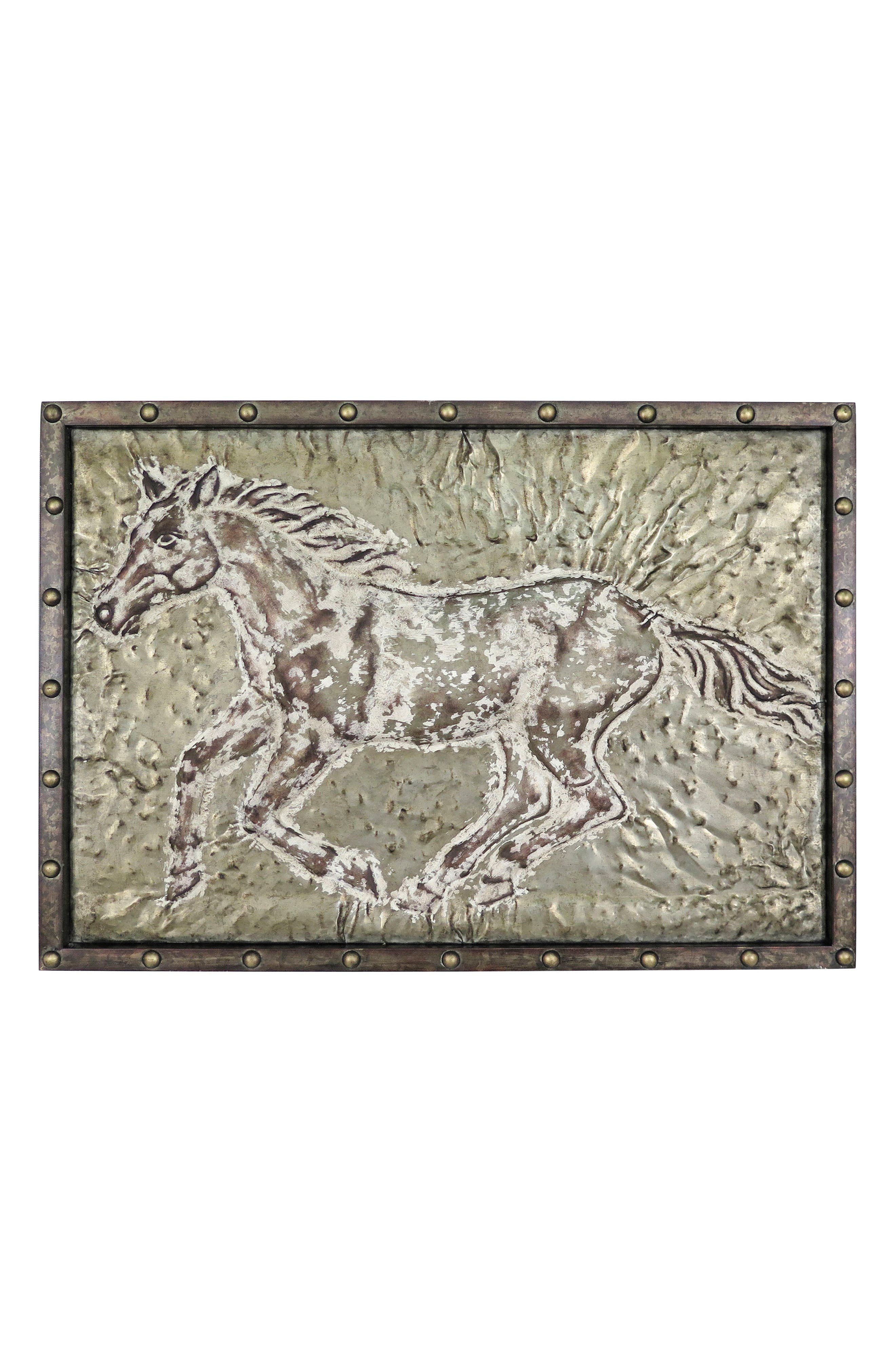 Main Image - Foreside Running Horse Wall Art