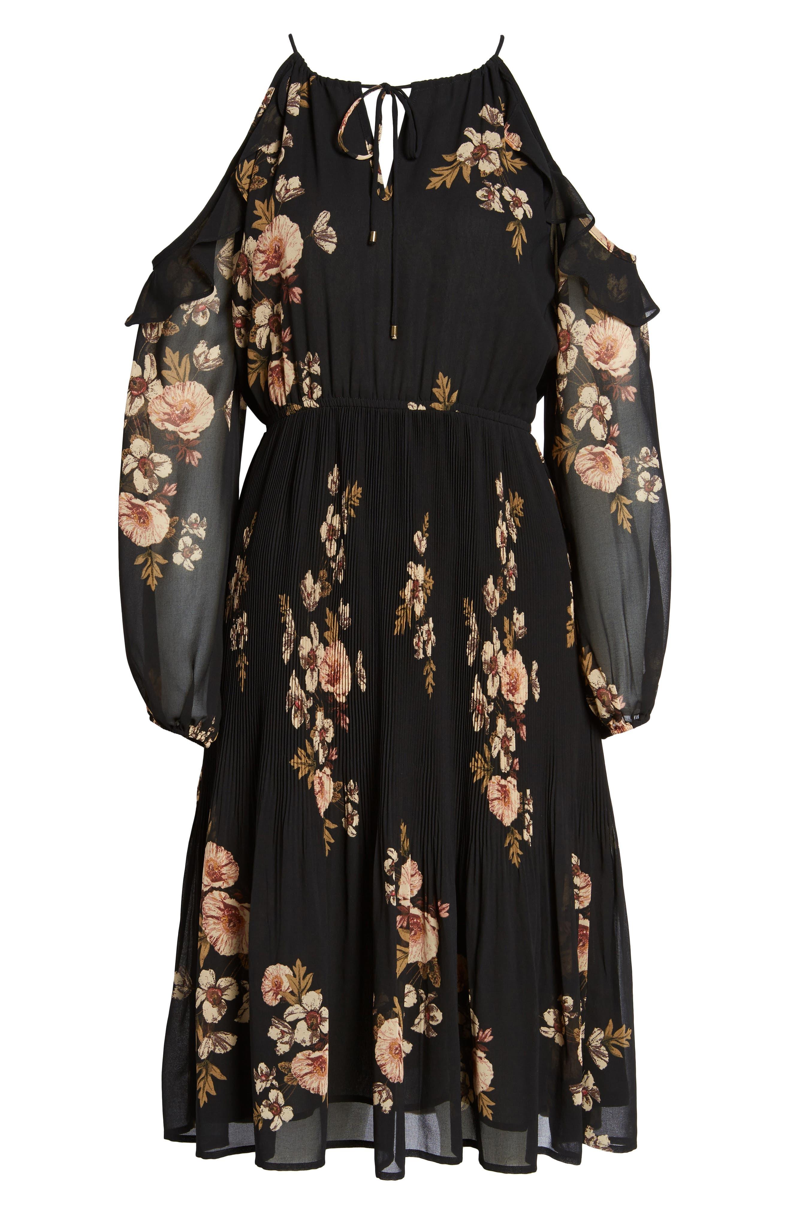 Alternate Image 8  - ASTR the Label Persephone Cold Shoulder Dress