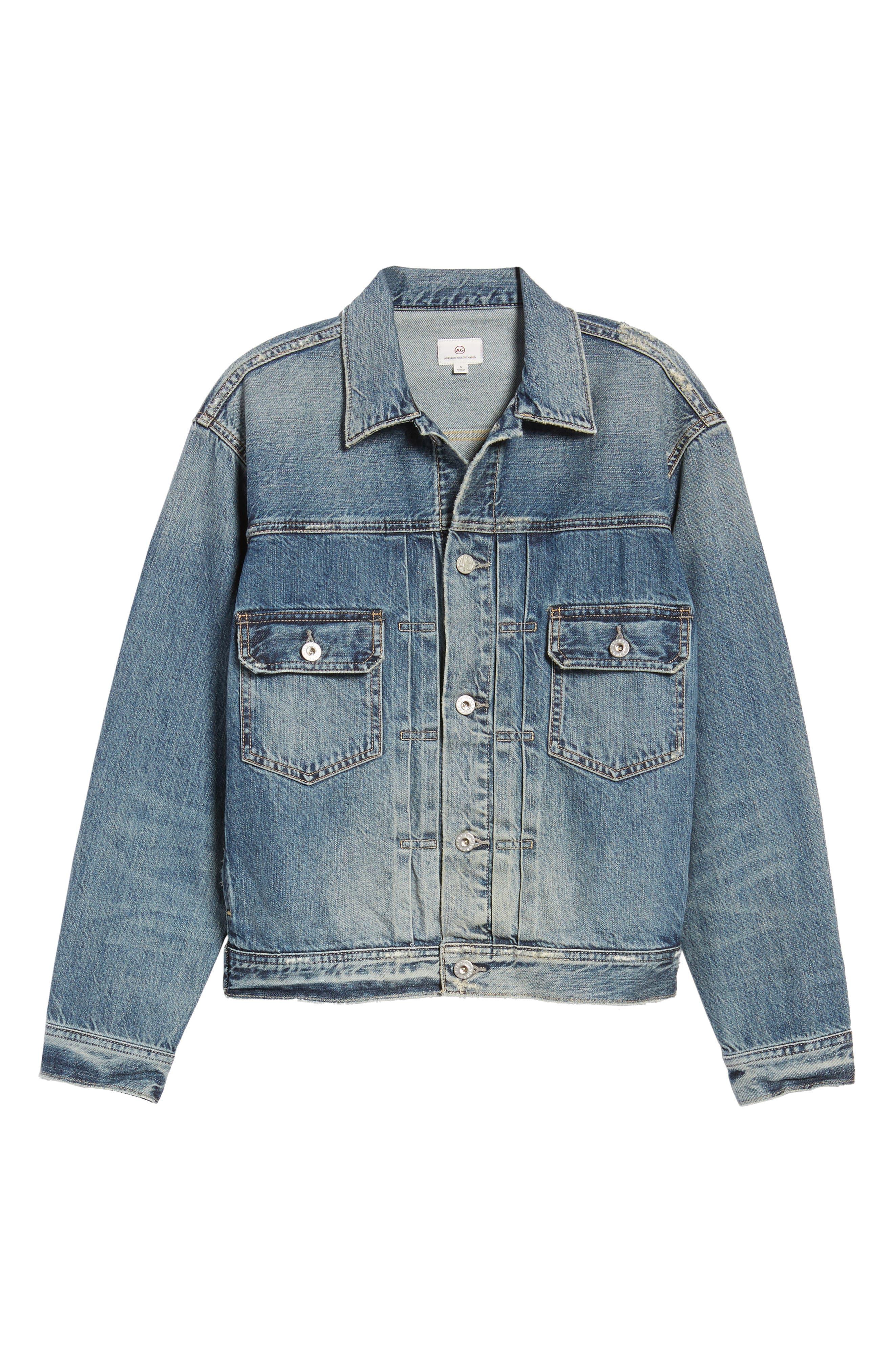 Alternate Image 6  - AG Cassie Denim Jacket