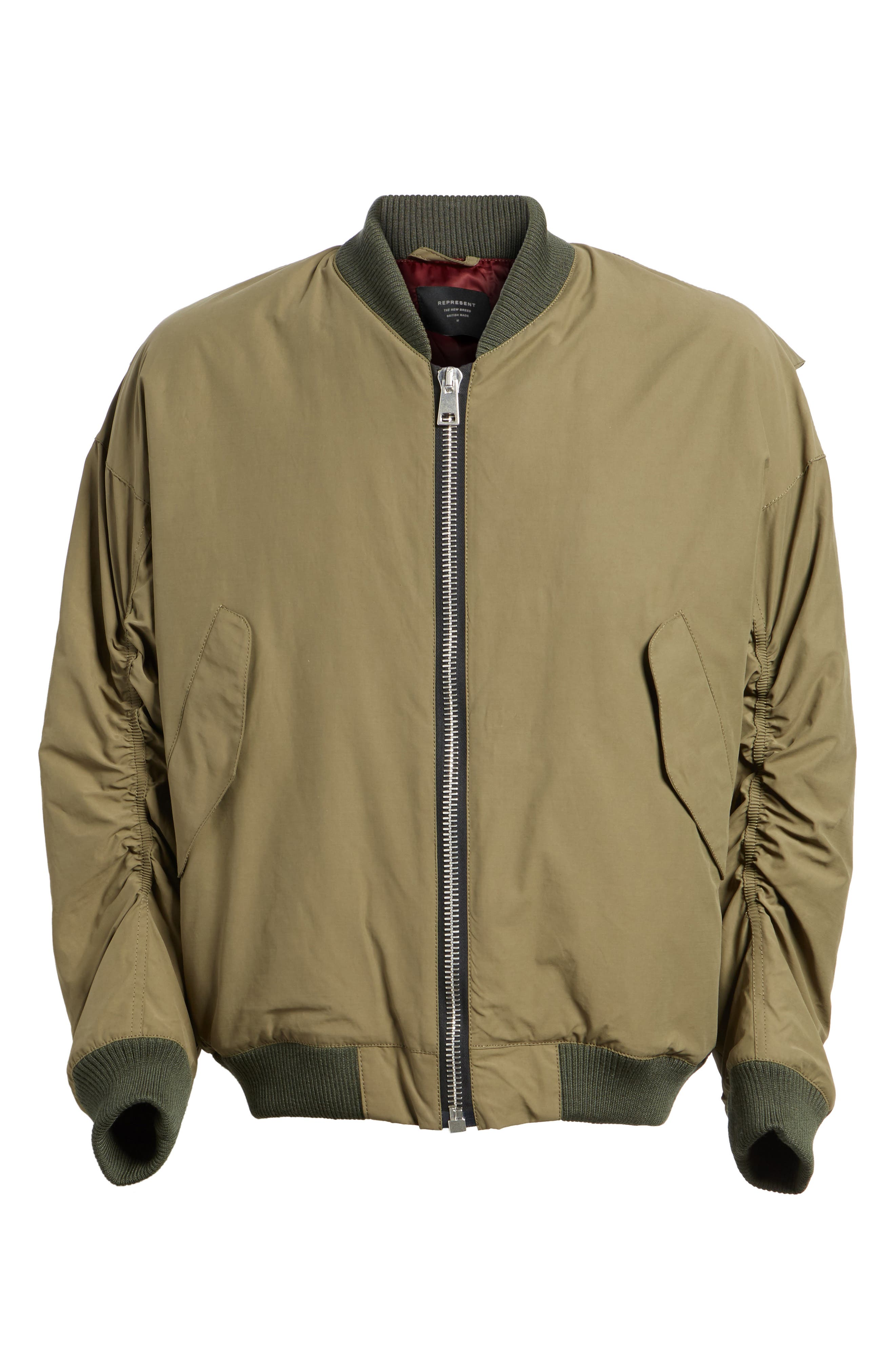 Alternate Image 6  - Represent Classic Bomber Jacket