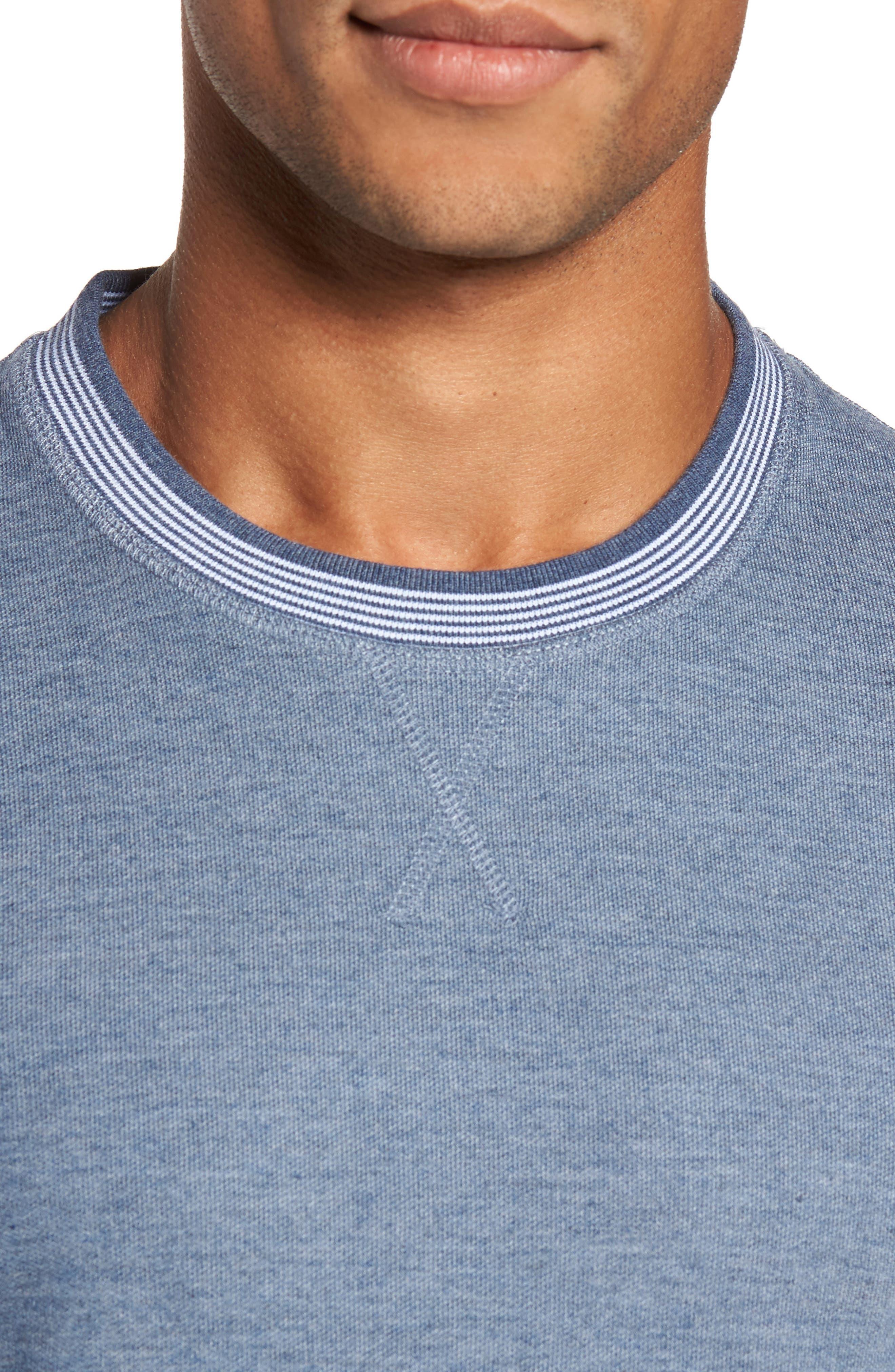 Alternate Image 4  - Ted Baker London Kaspa Modern Slim Fit Sweatshirt