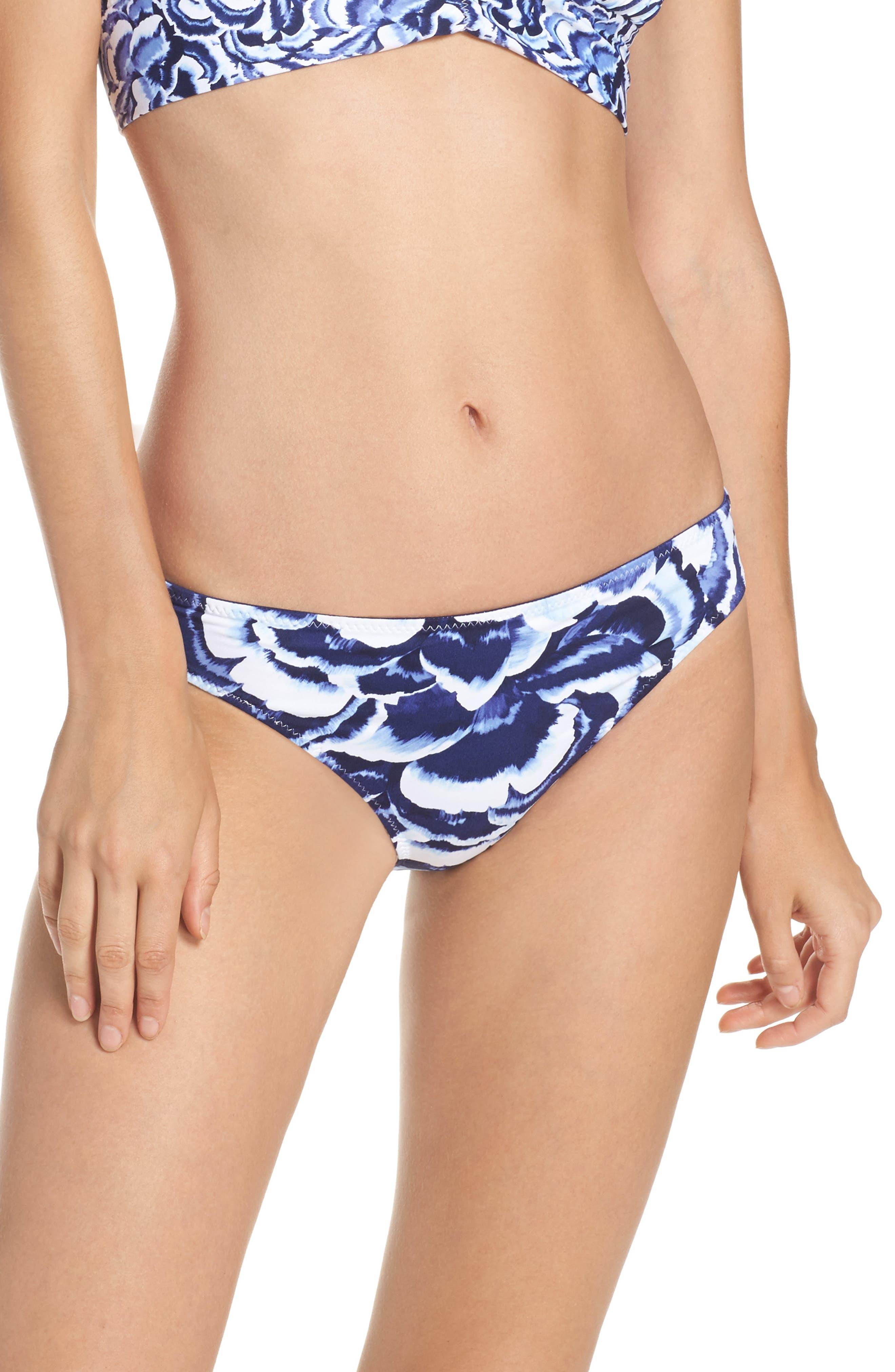 Tommy Bahama Pansey Petals Hipster Bikini Bottoms