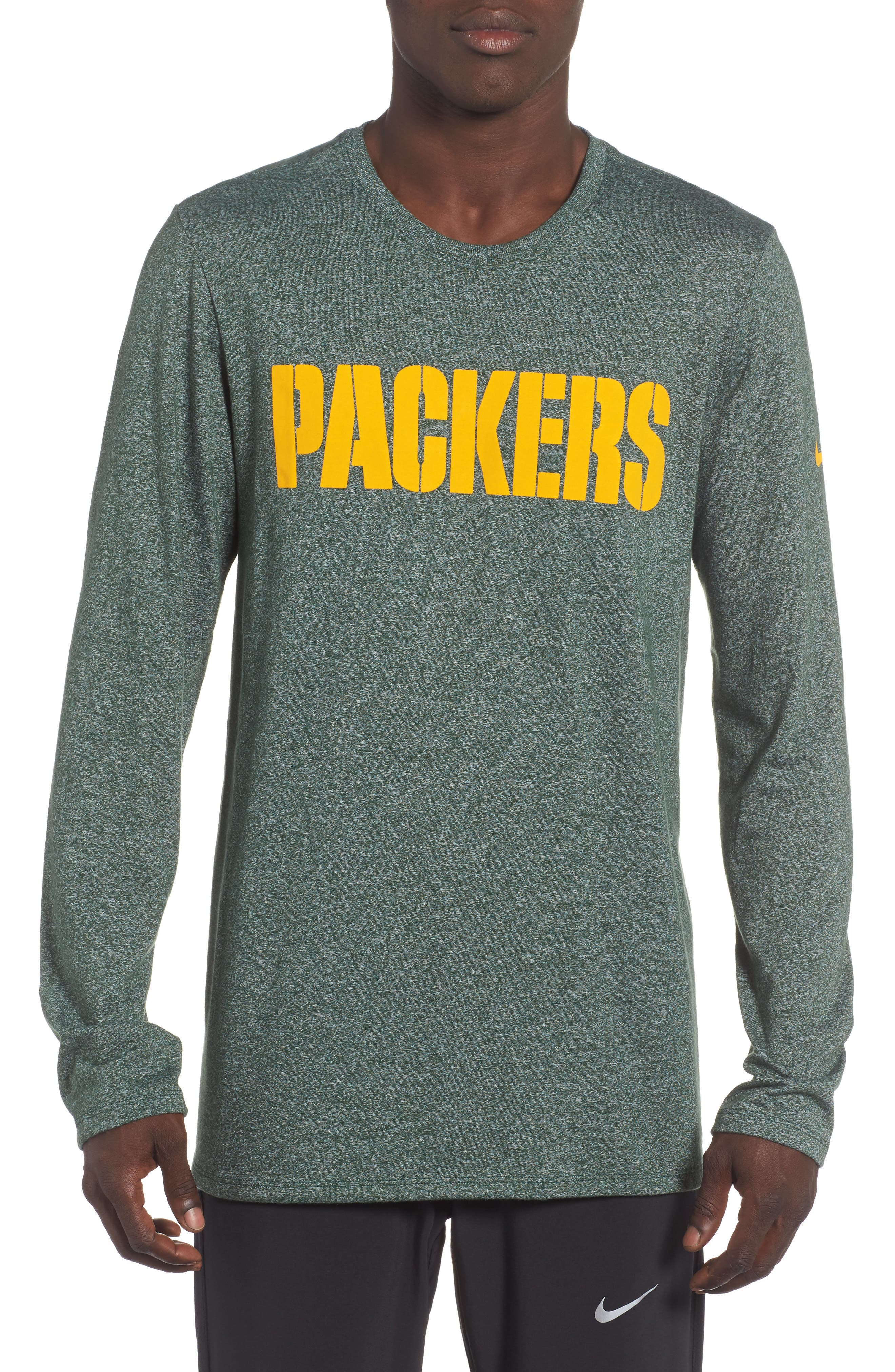 NFL Graphic Long Sleeve T-Shirt,                             Main thumbnail 1, color,                             Packers