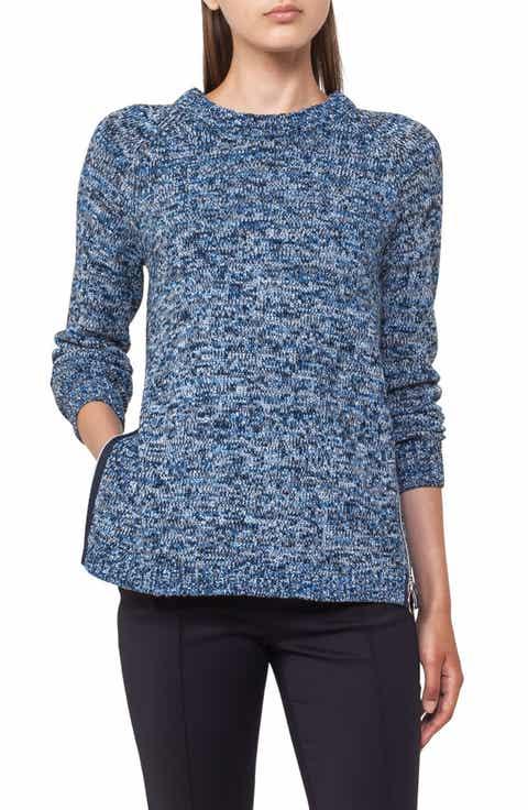 Akris punto Cotton Blend Knit Pullover