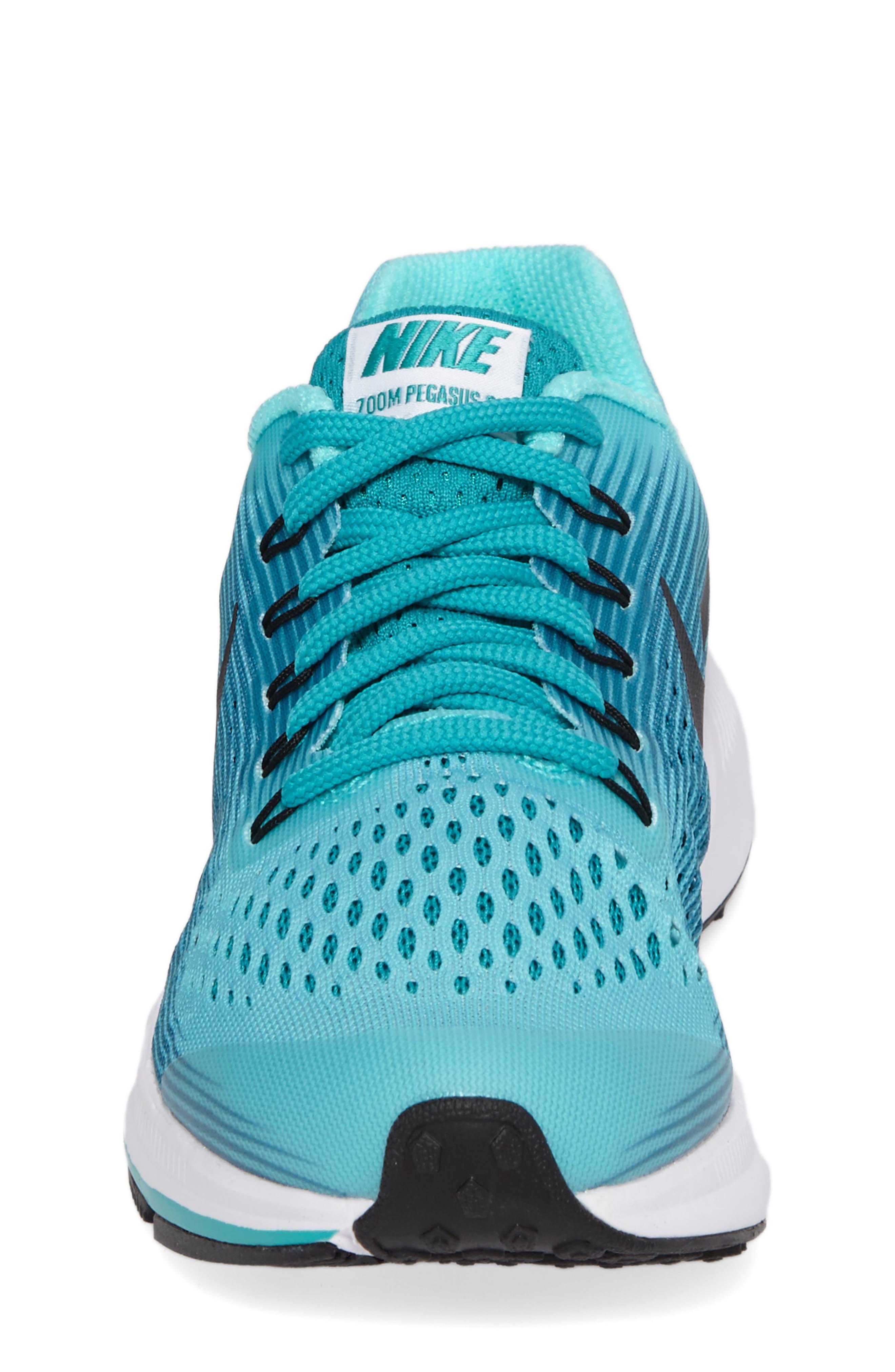 Alternate Image 4  - Nike Zoom Pegasus 34 Sneaker (Little Kid & Big Kid)