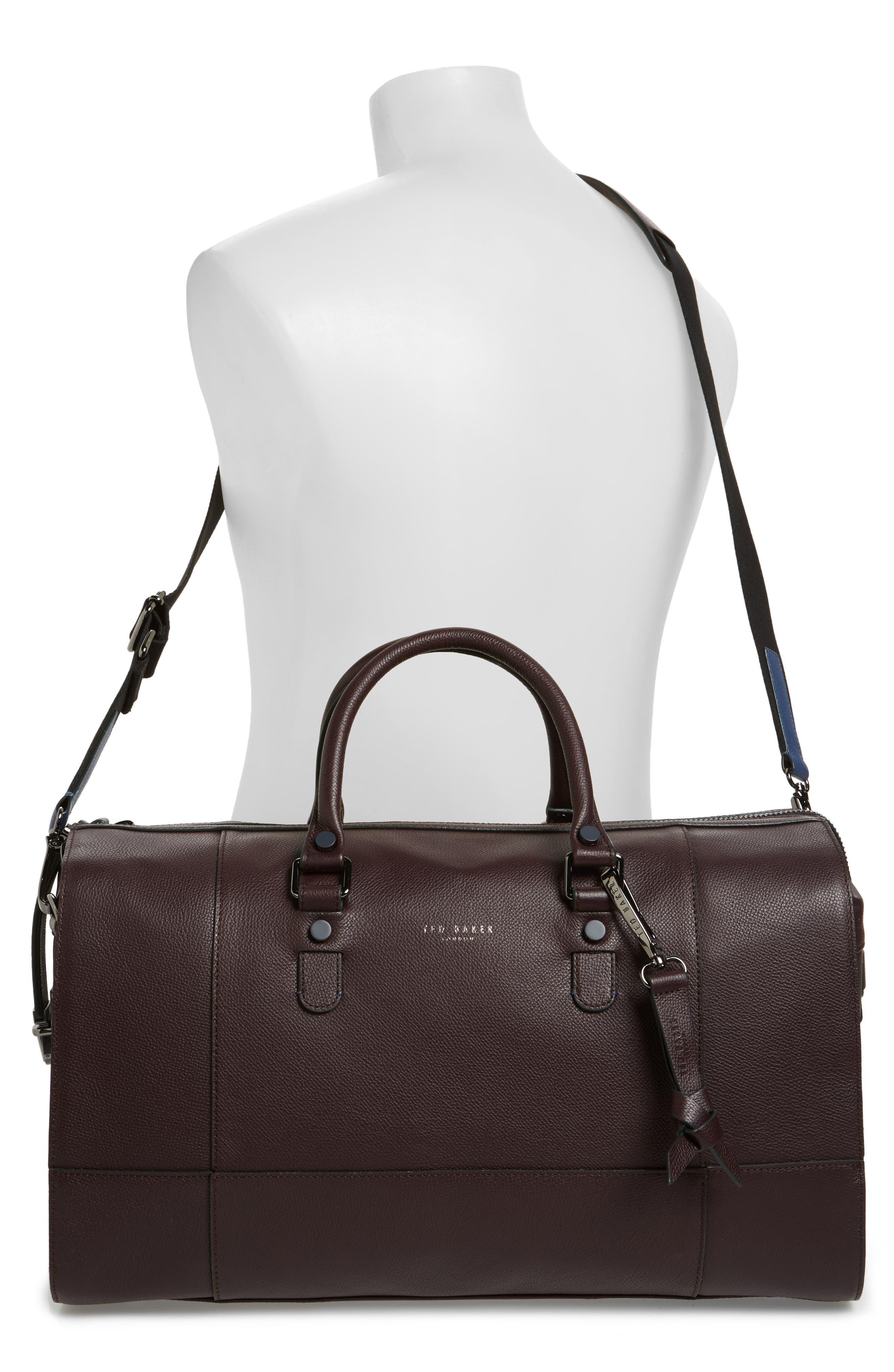 Alternate Image 2  - Ted Baker London Panthea Leather Duffel Bag