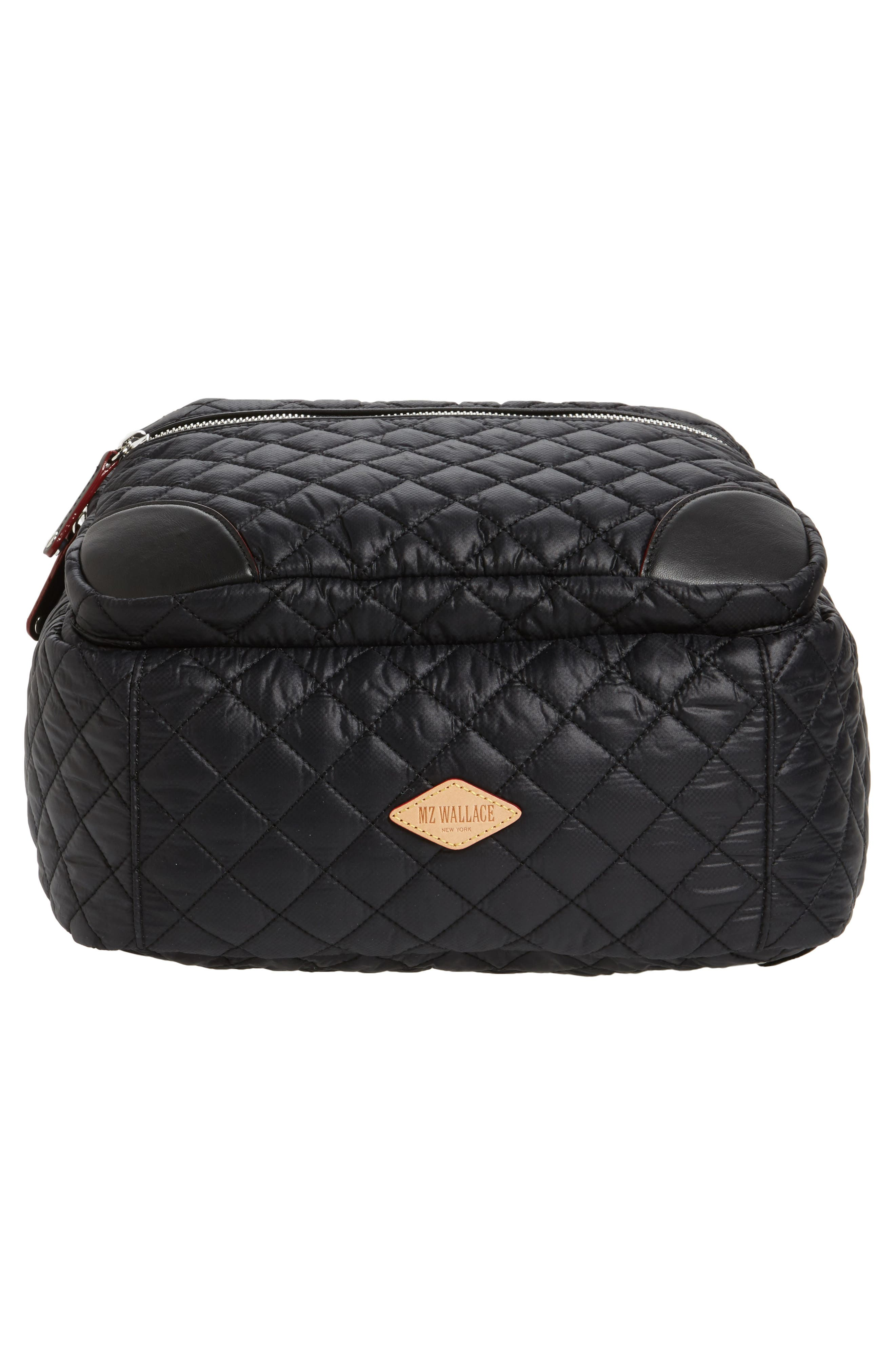Alternate Image 6  - MZ Wallace Crosby Quilted Oxford Nylon Backpack