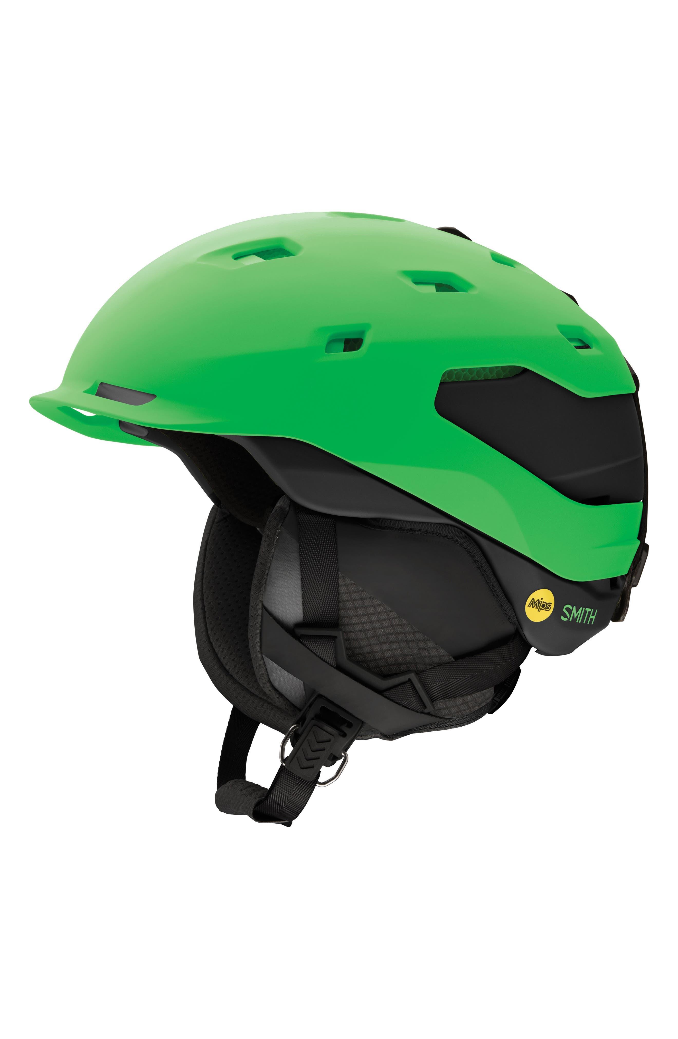 Quantum with MIPS Snow Helmet,                         Main,                         color, Matte Reactor Black