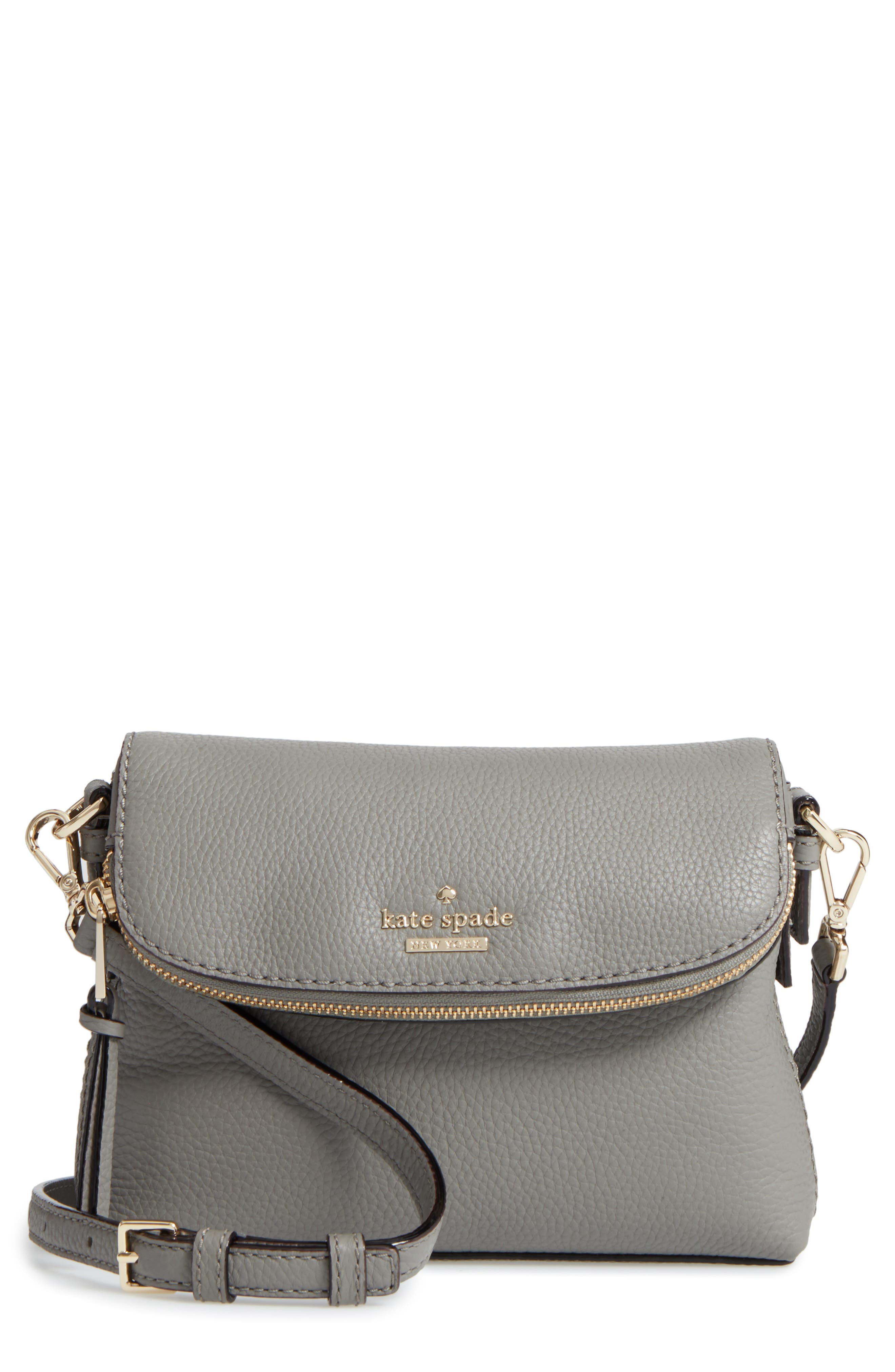 Alternate Image 1 Selected - kate spade new york jackson street harlyn leather crossbody bag