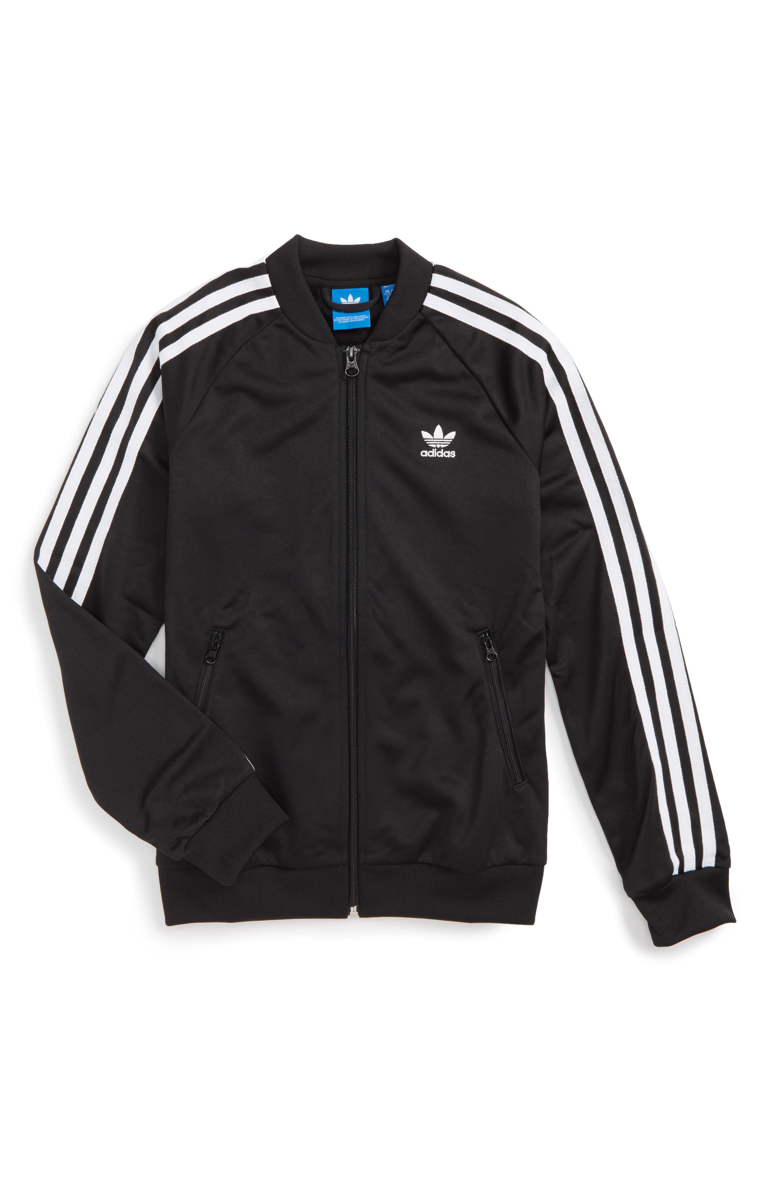 adidas Originals Supergirl Track Jacket (Little Girls \u0026 Big Girls)