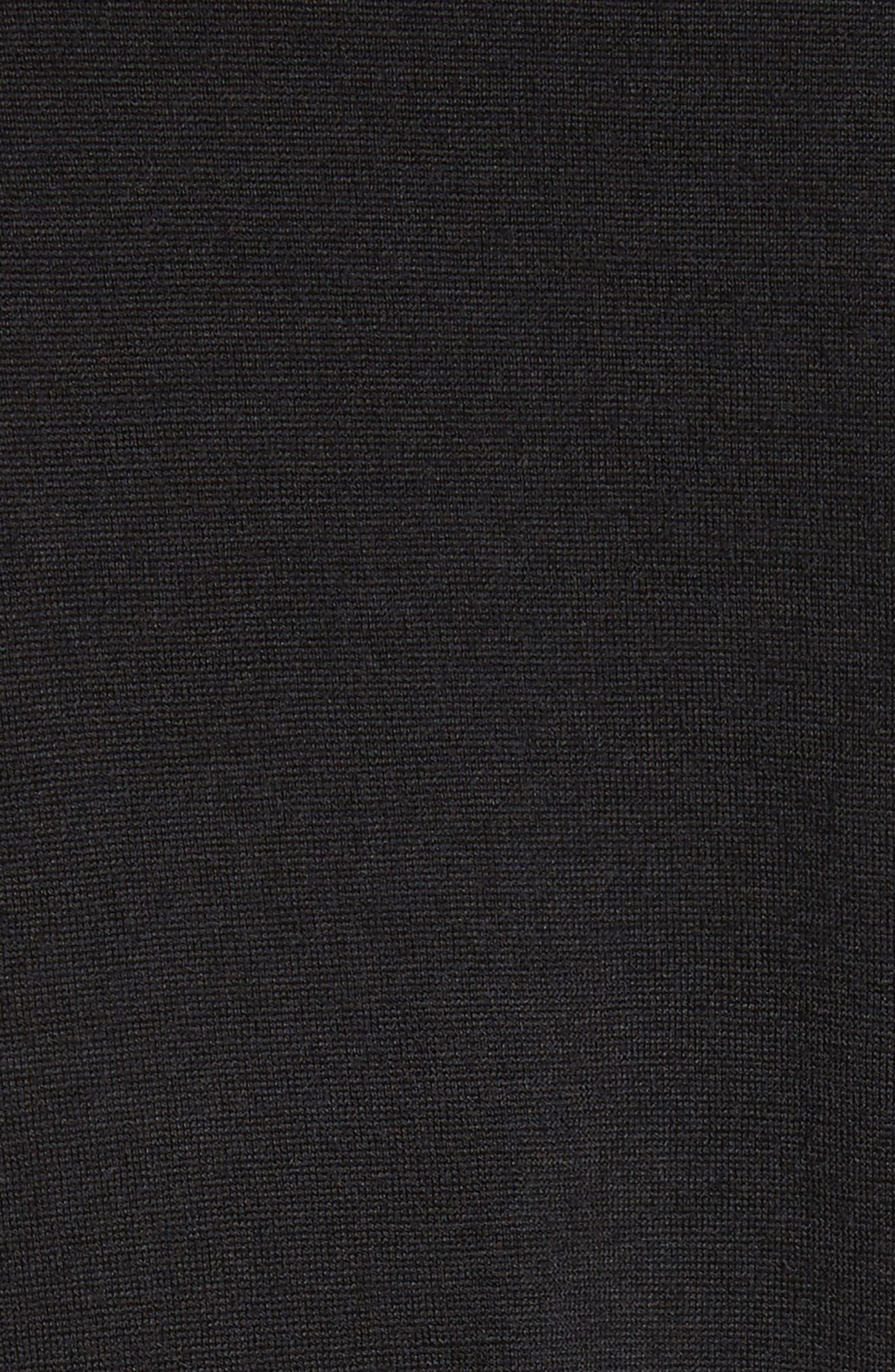 Alternate Image 5  - Comme des Garçons Ruffle Sleeve Wool Top