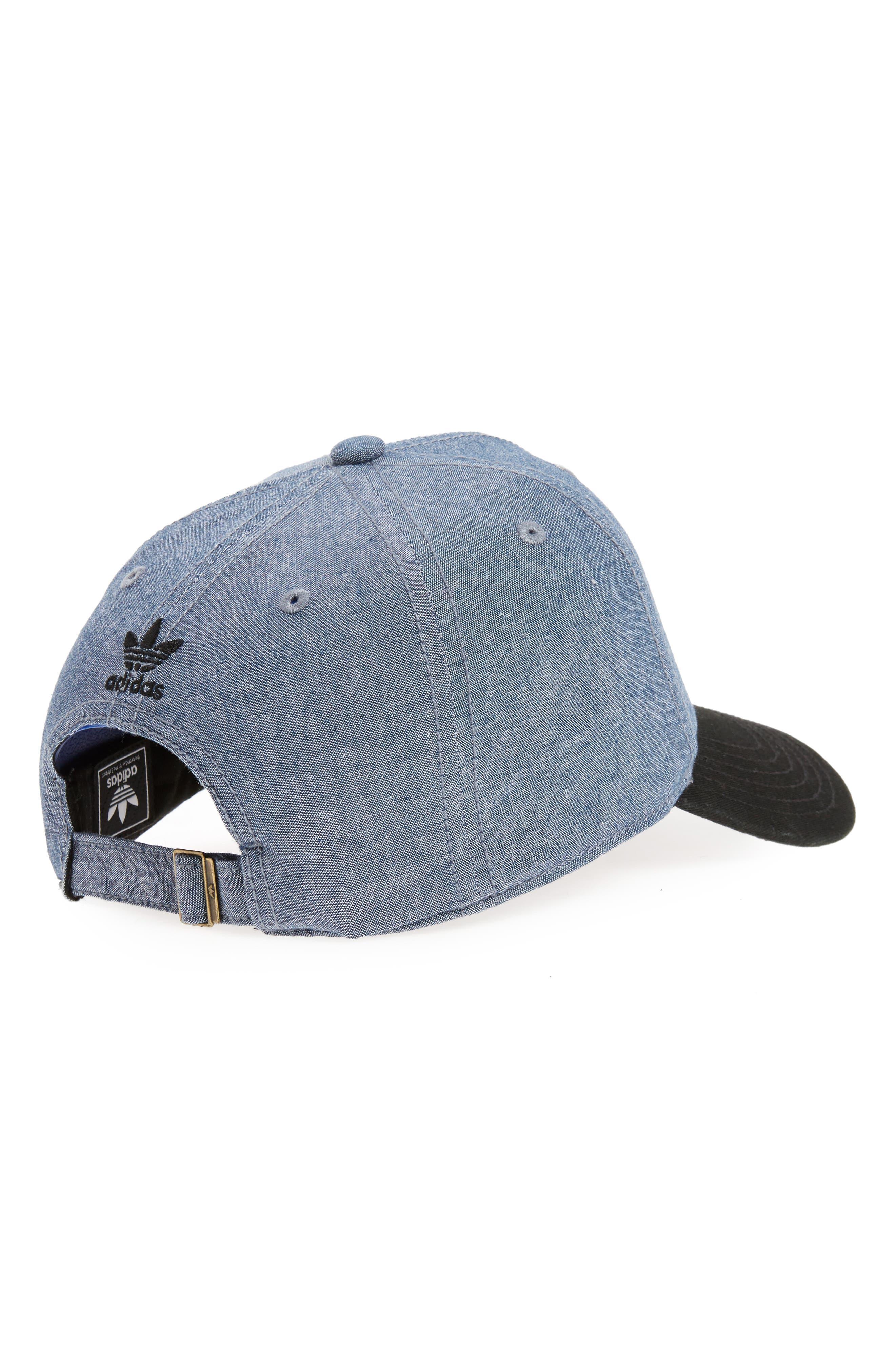 Relaxed Snapback Baseball Cap,                             Alternate thumbnail 2, color,                             Medium Blue