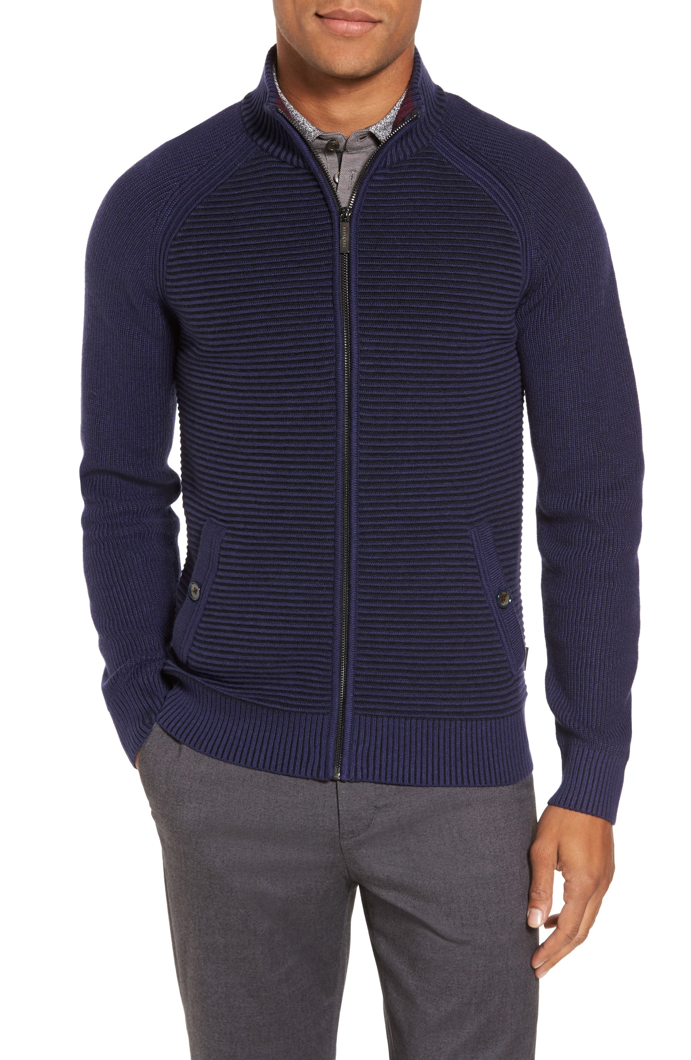 Ted Baker London Modern Slim Fit Raglan Sweater