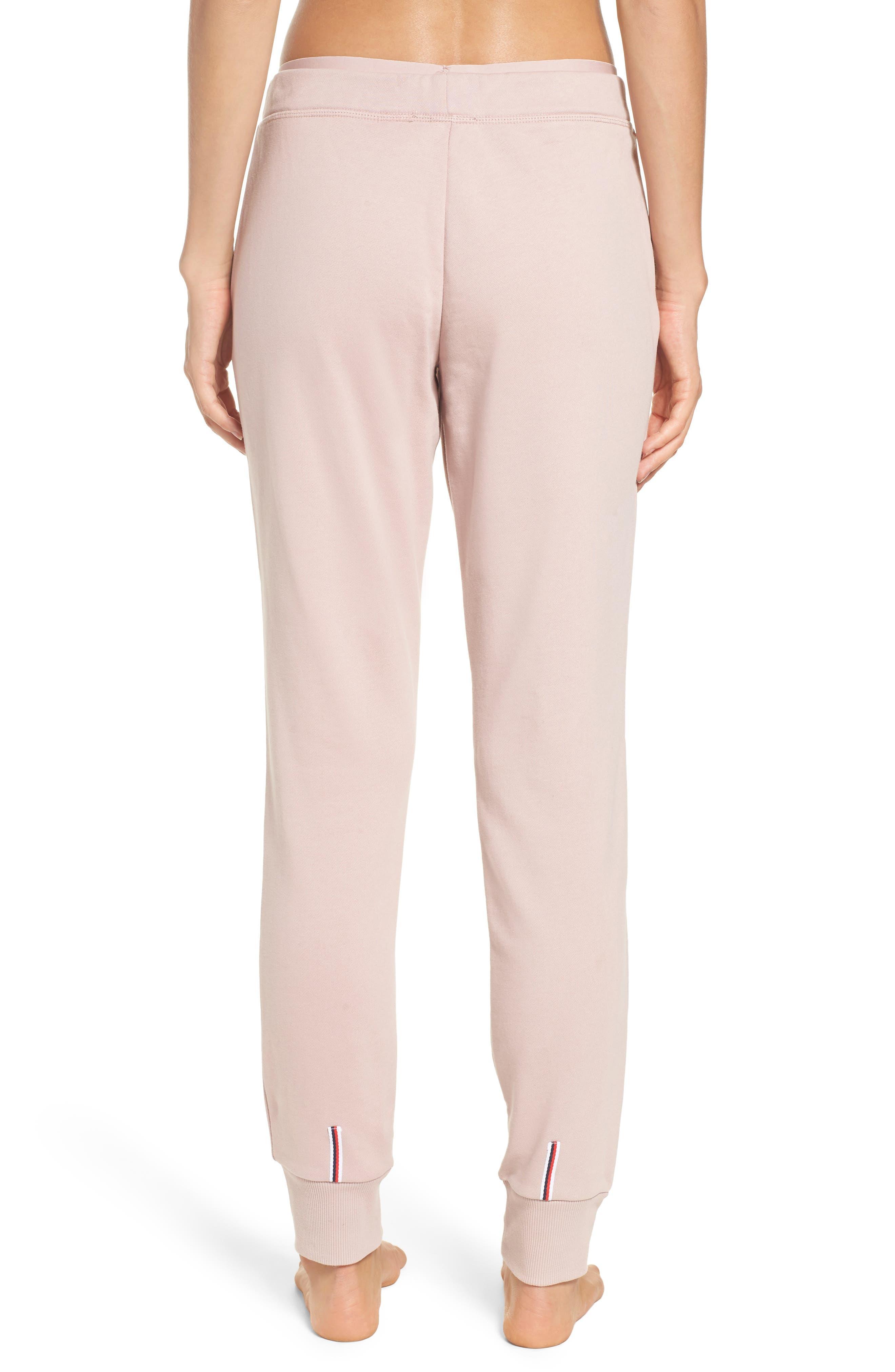 Sweatpants,                             Alternate thumbnail 2, color,                             Shell Pink