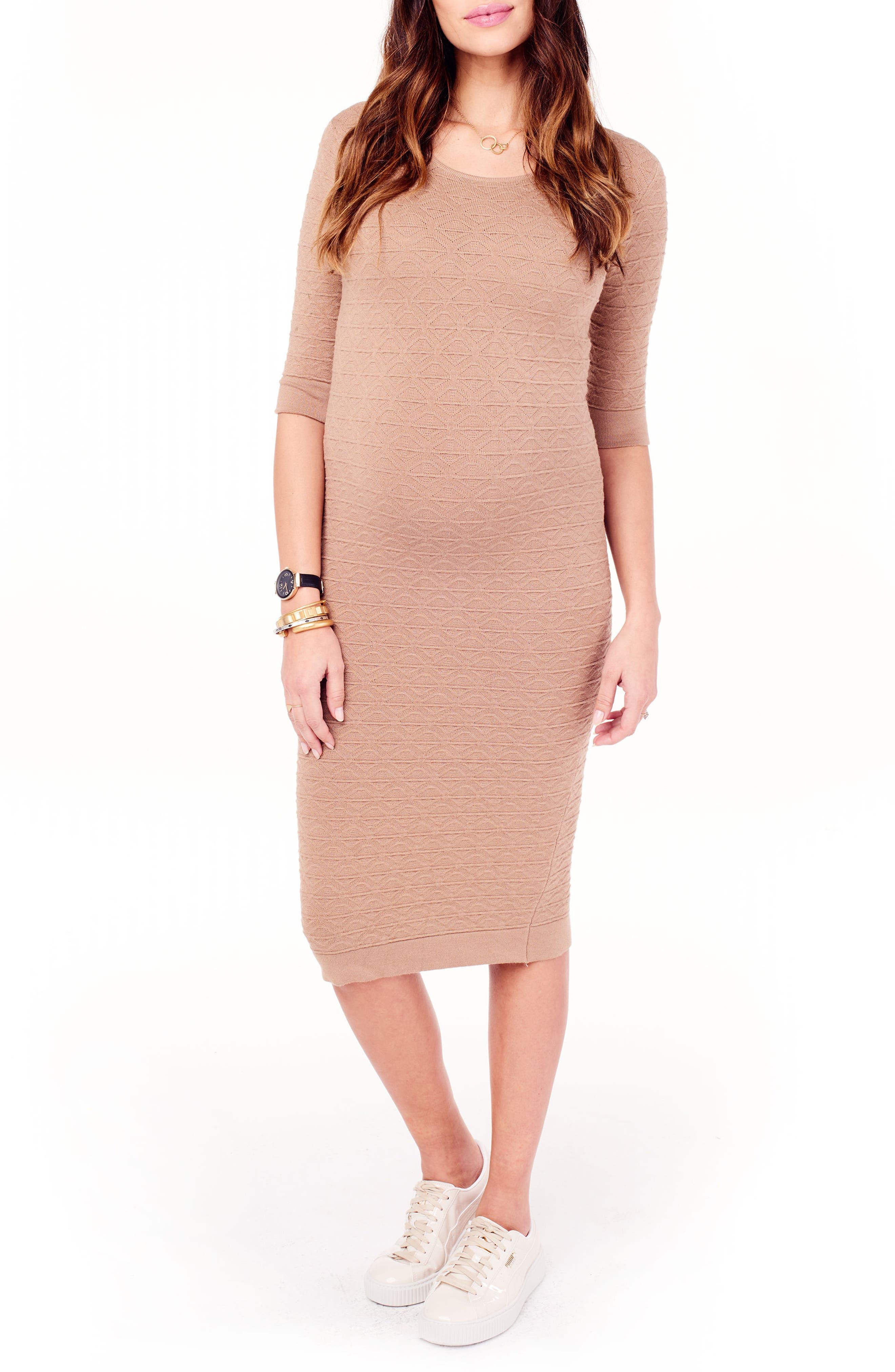 Ingrid & Isabel® Sweater Knit Maternity Sheath Dress