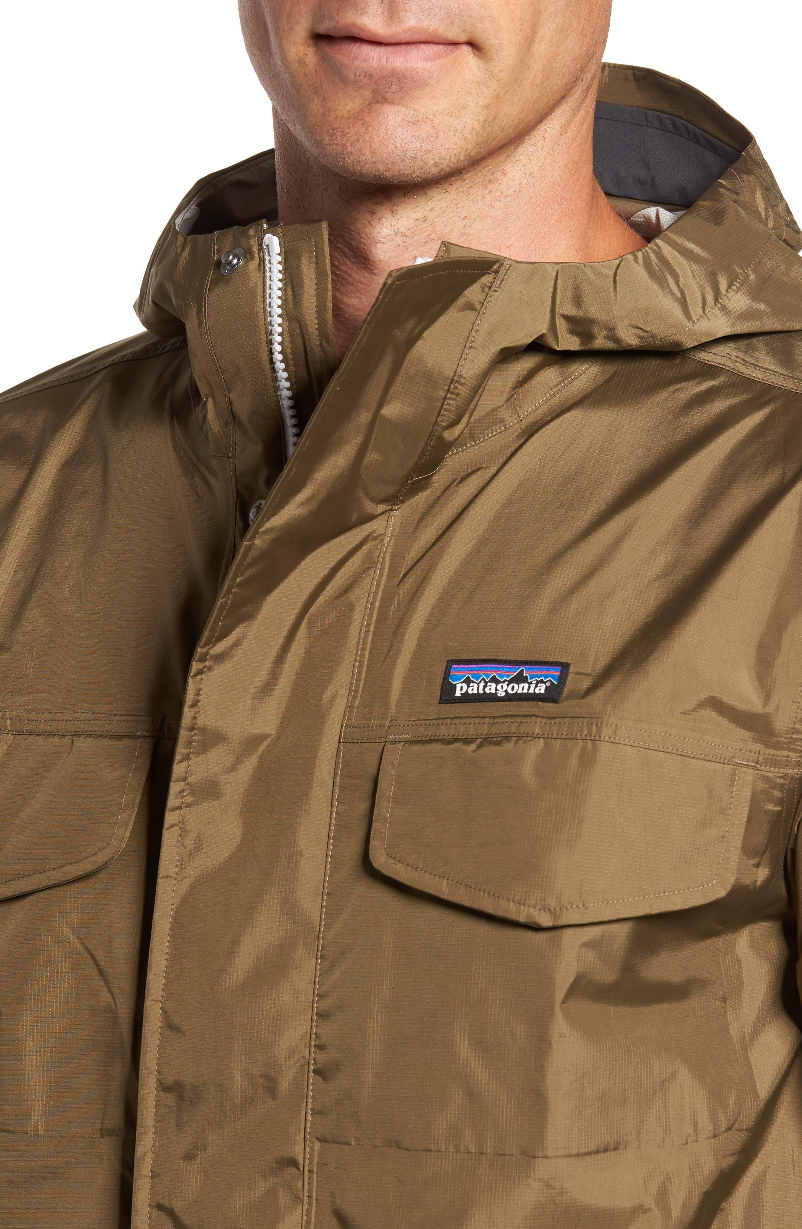 Torrentshell Waterproof Jacket,                             Alternate thumbnail 4, color,                             Dark Ash