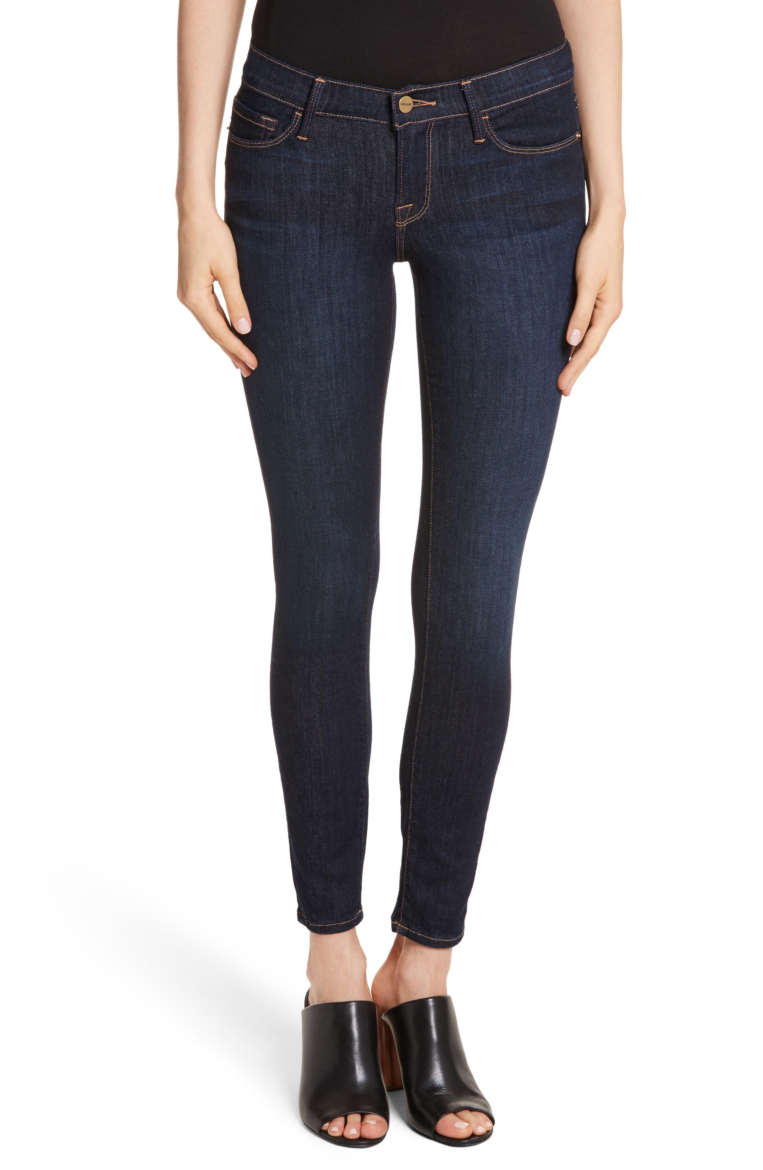 Alternate Image 1 Selected - FRAME Le Skinny de Jeanne Jeans (Dame)