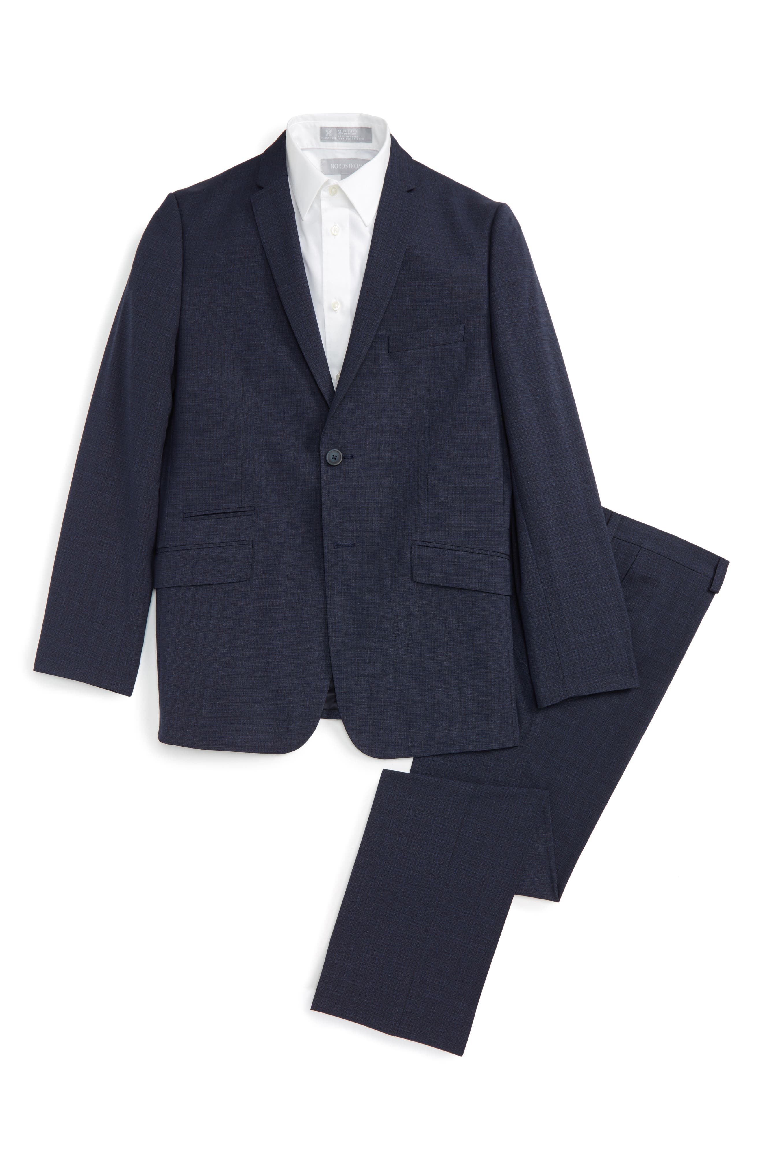 Tattersall Suit,                         Main,                         color, Blue