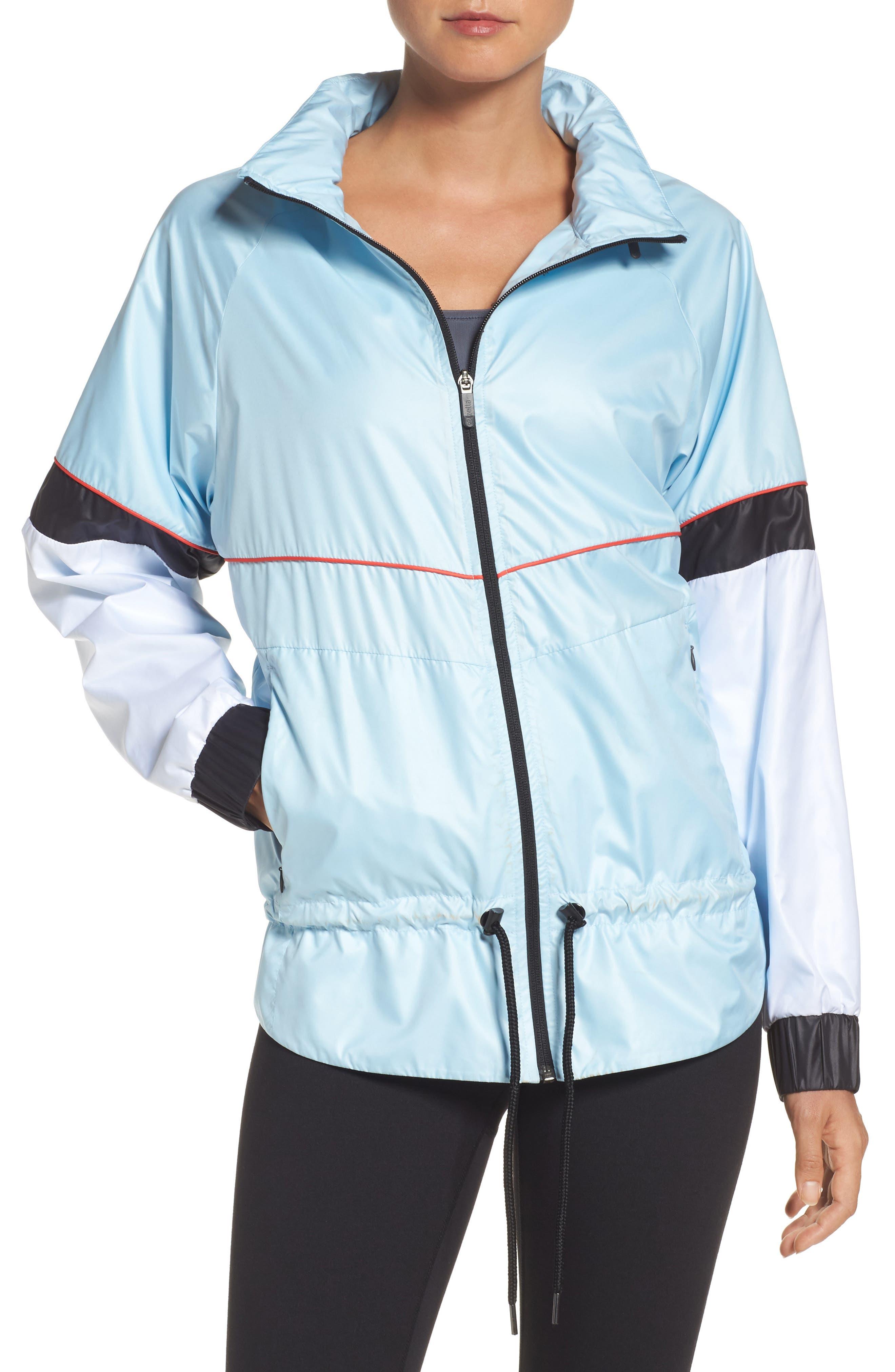 Shadowboxer Jacket,                         Main,                         color, Blue Omphalodes
