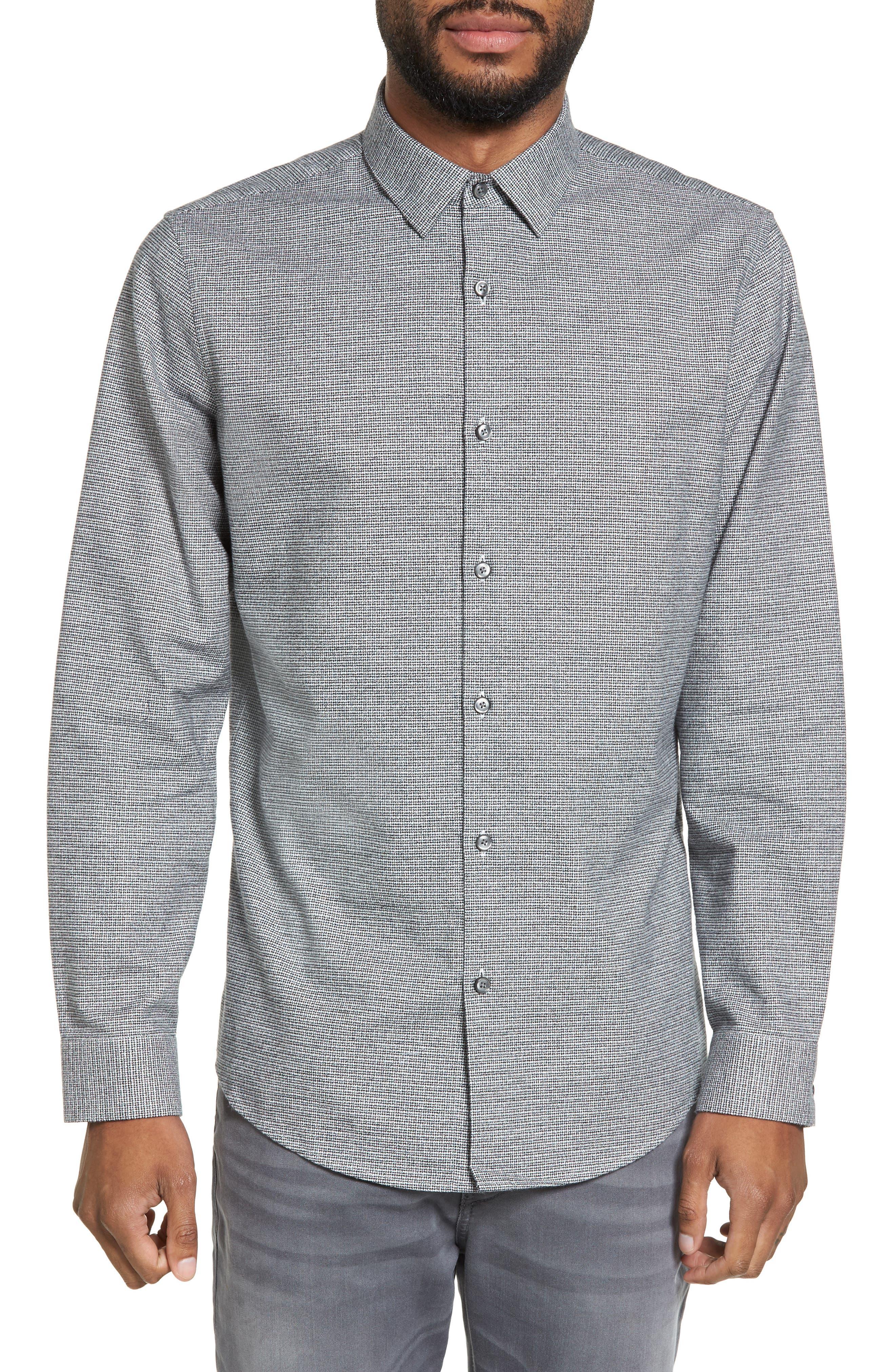 Main Image - Calibrate Flannel Sport Shirt