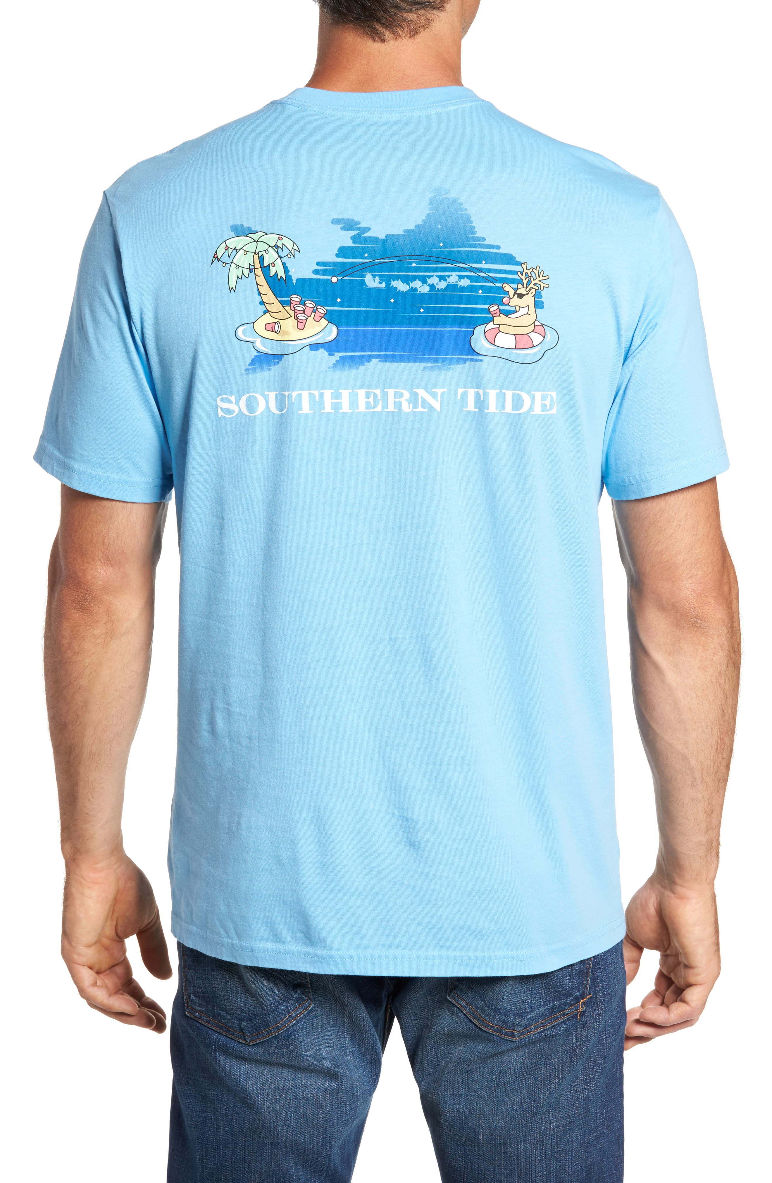 Alternate Image 2  - Southern Tide Reindeer Holiday T-Shirt