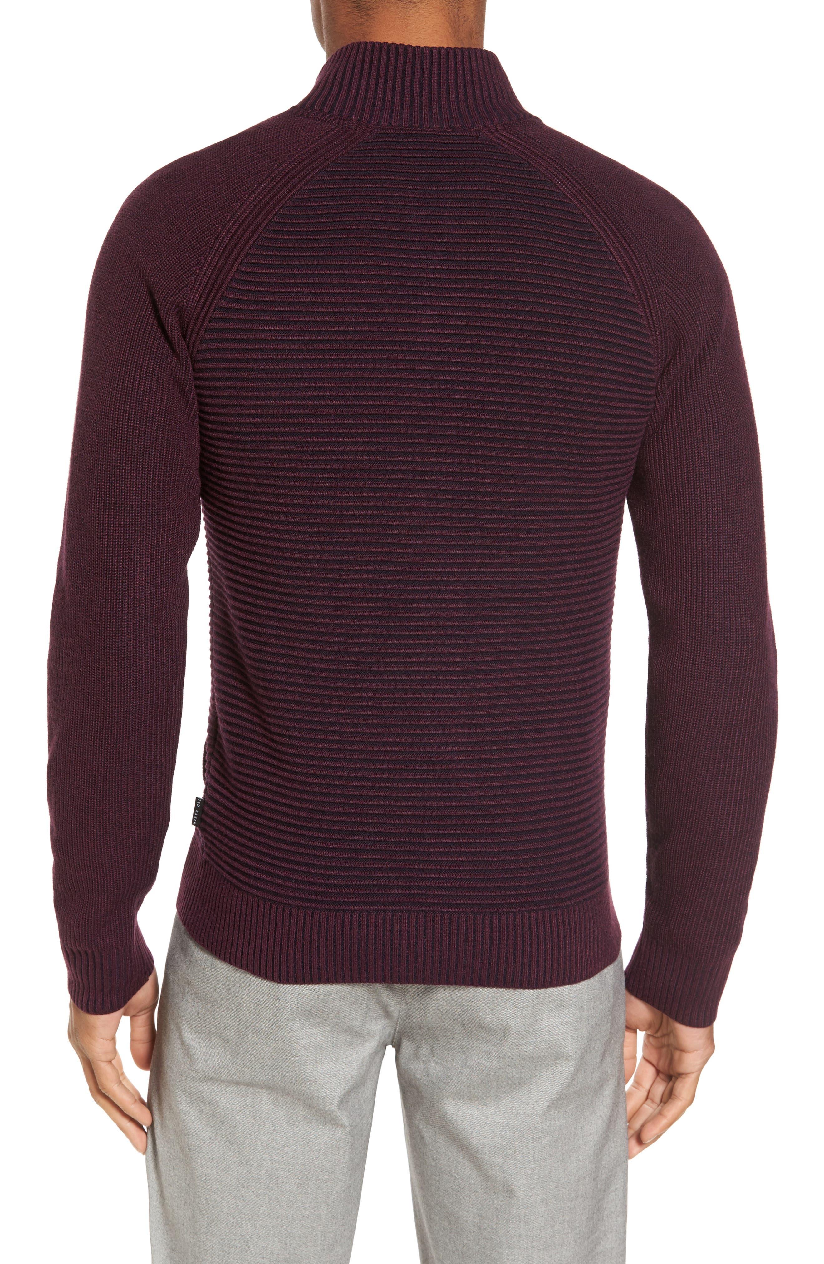 Alternate Image 2  - Ted Baker London Modern Slim Fit Raglan Sweater