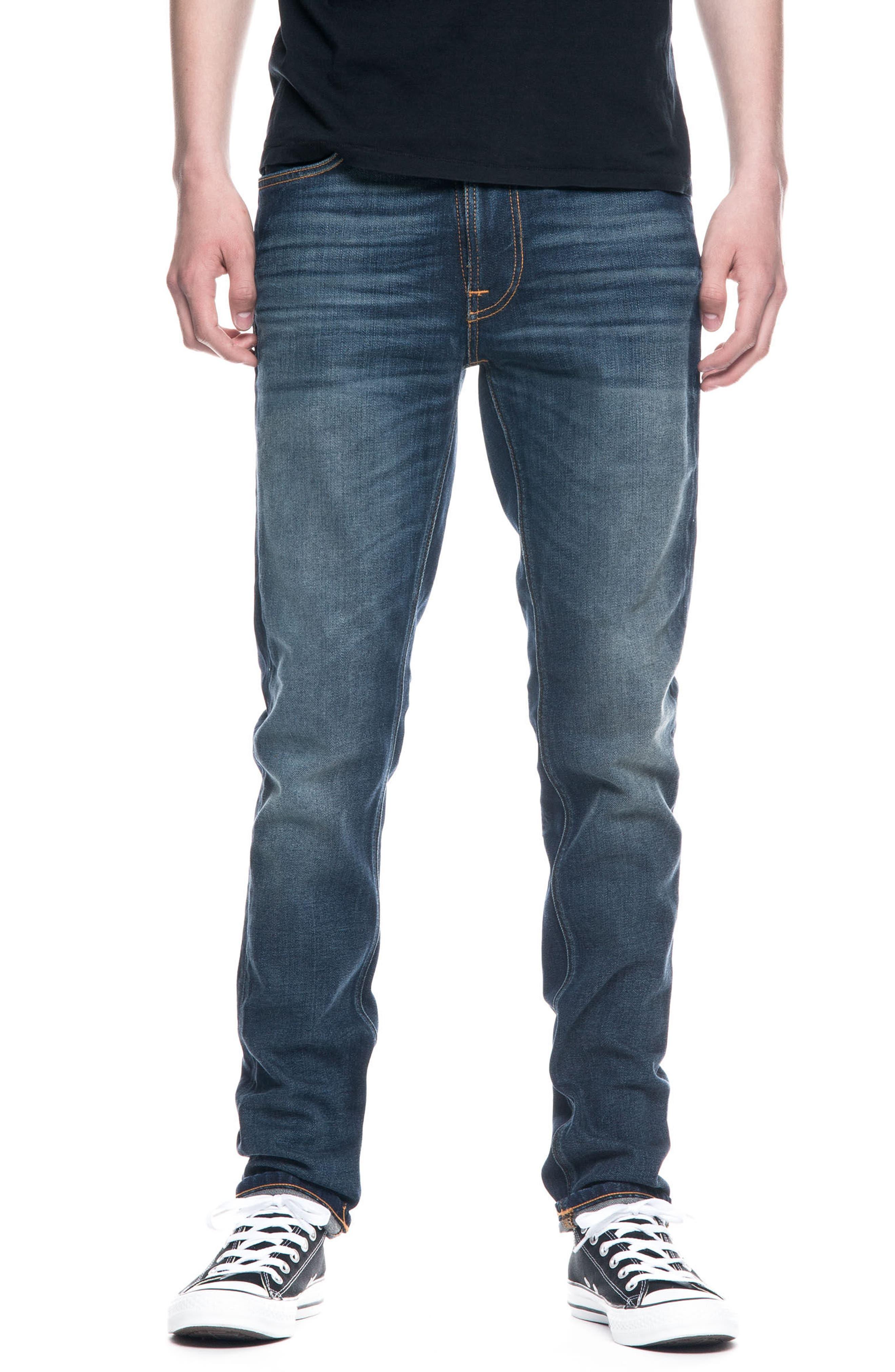 Nudie Jeans Lean Dean Slouchy Slim Fit Jeans (True Hustle)