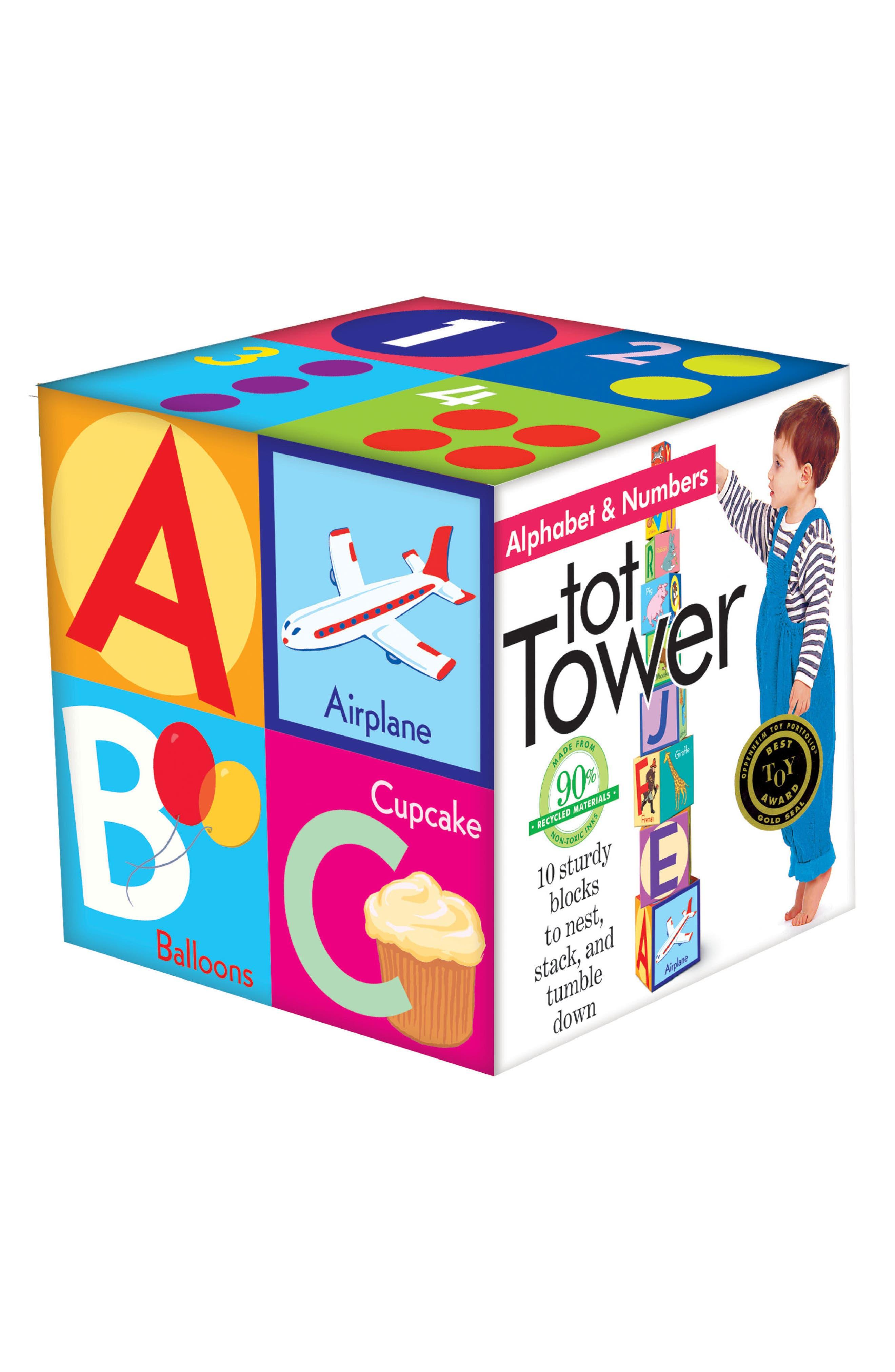 Alphabet Tower,                         Main,                         color, Multi