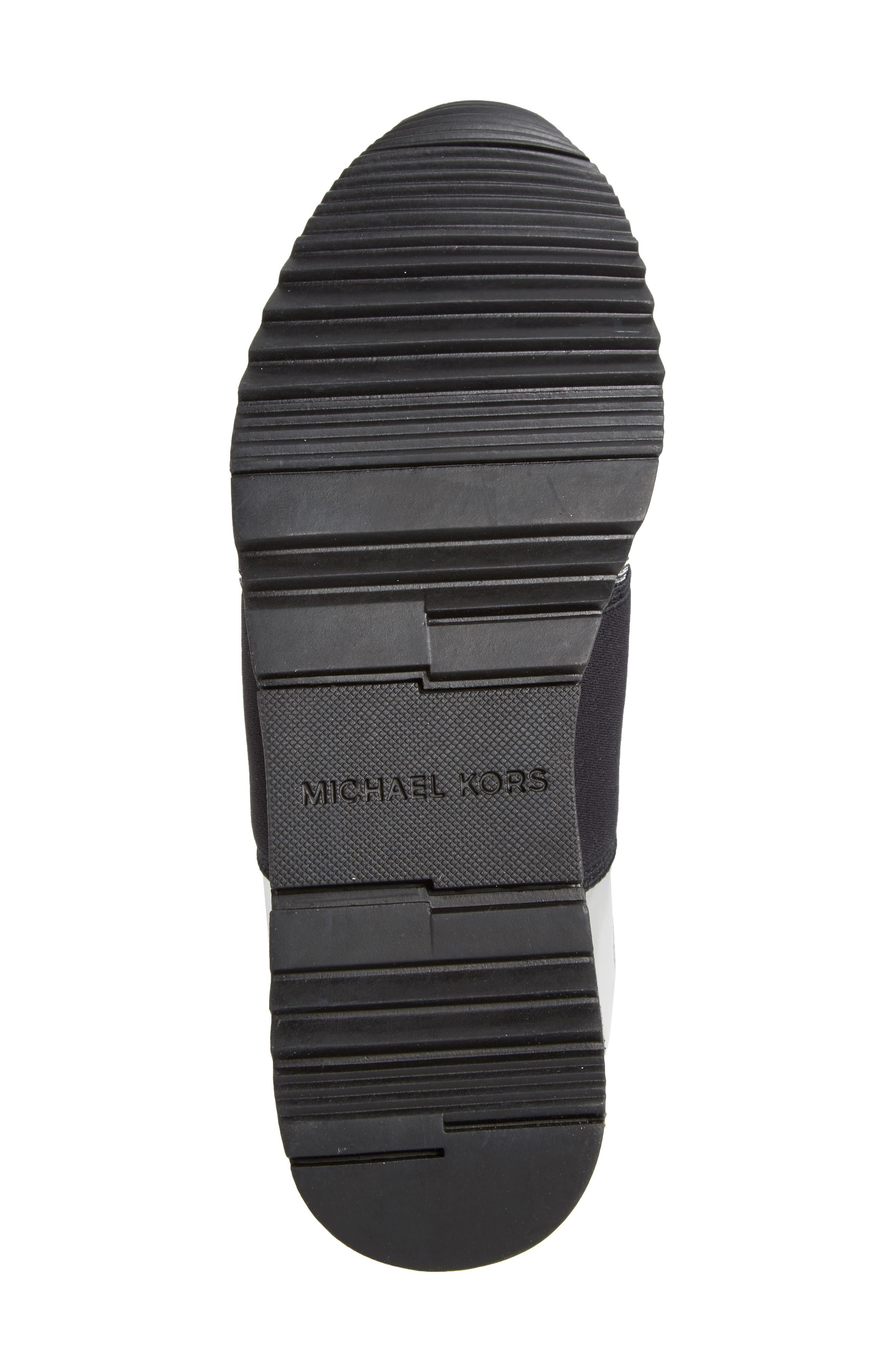 Slip-On Sneaker,                             Alternate thumbnail 6, color,                             Black