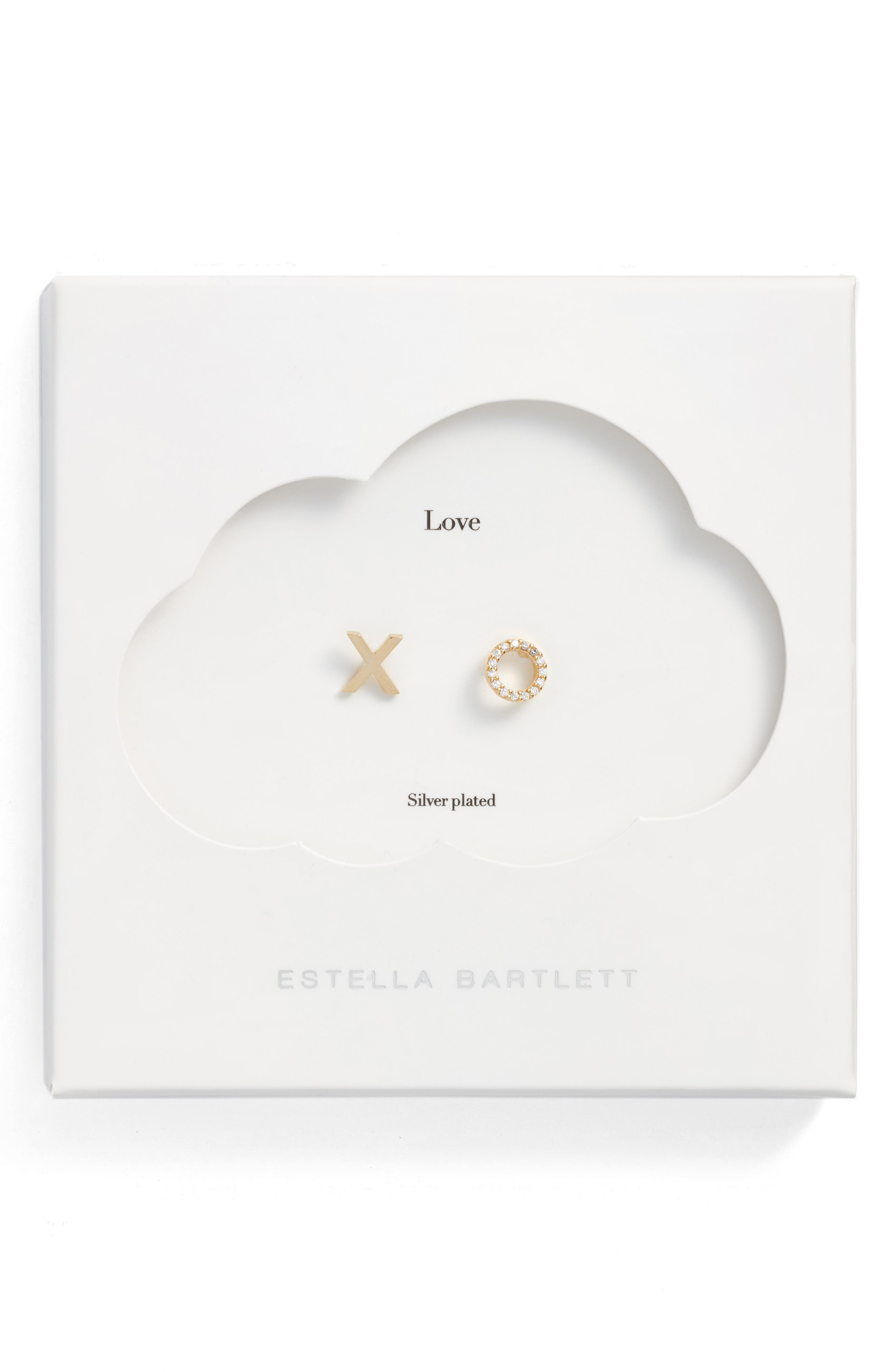 Main Image - Estella Bartlett XO Stud Earrings
