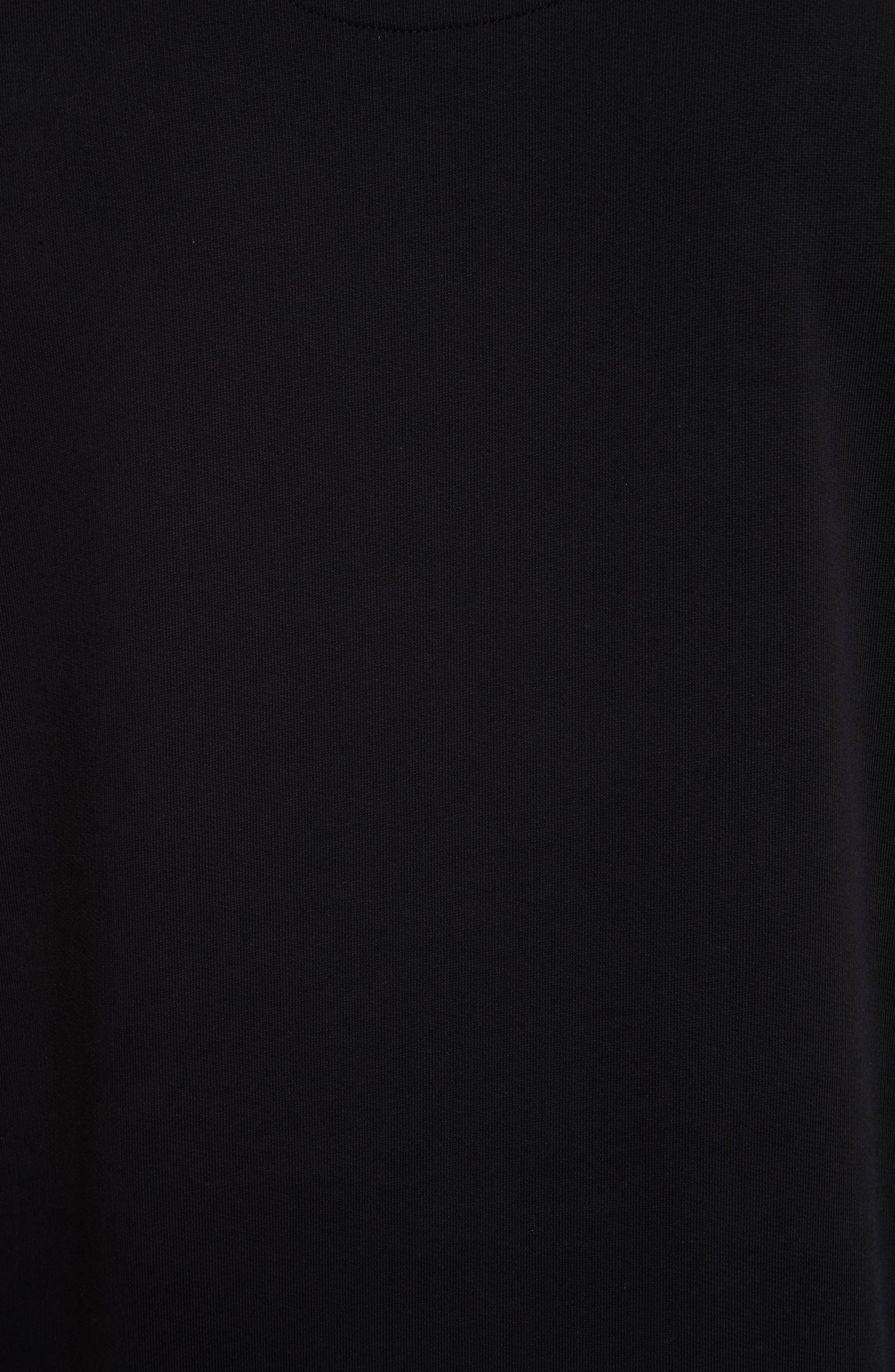 Alternate Image 5  - VERSUS by Versace Heartbeat Graphic Sweatshirt
