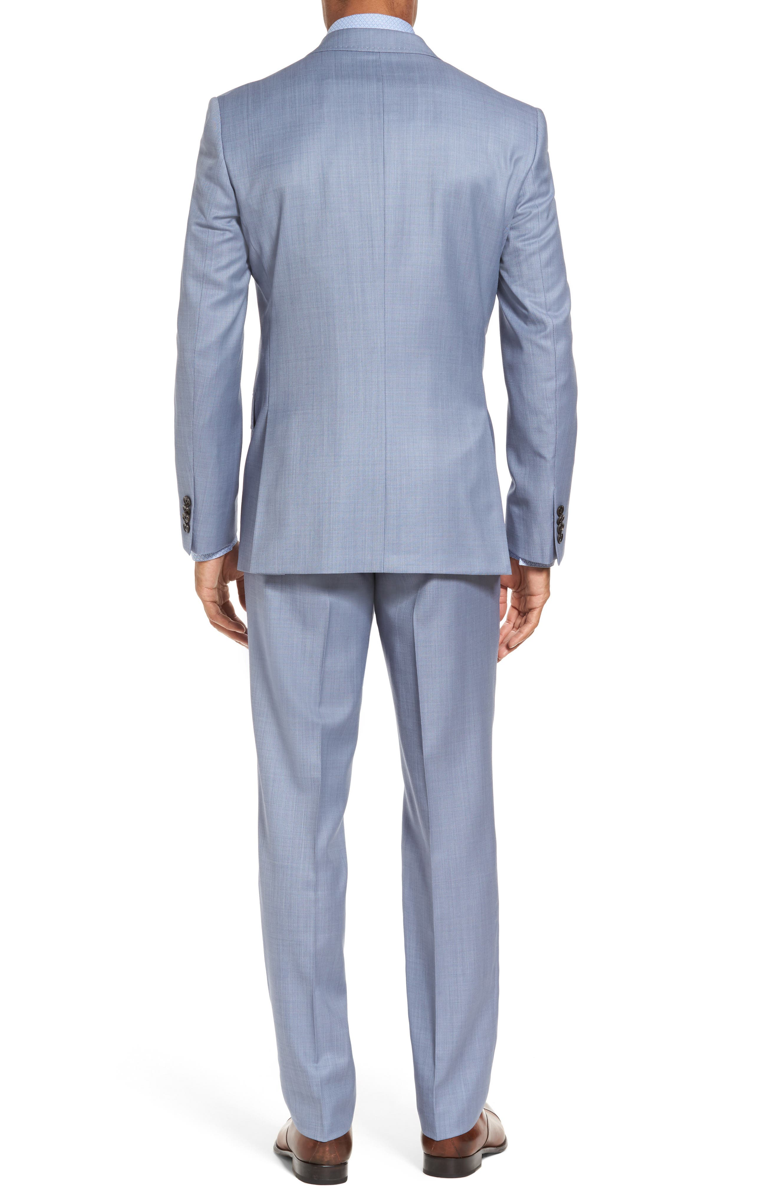 Alternate Image 2  - Ted Baker London Trim Fit Solid Wool Suit