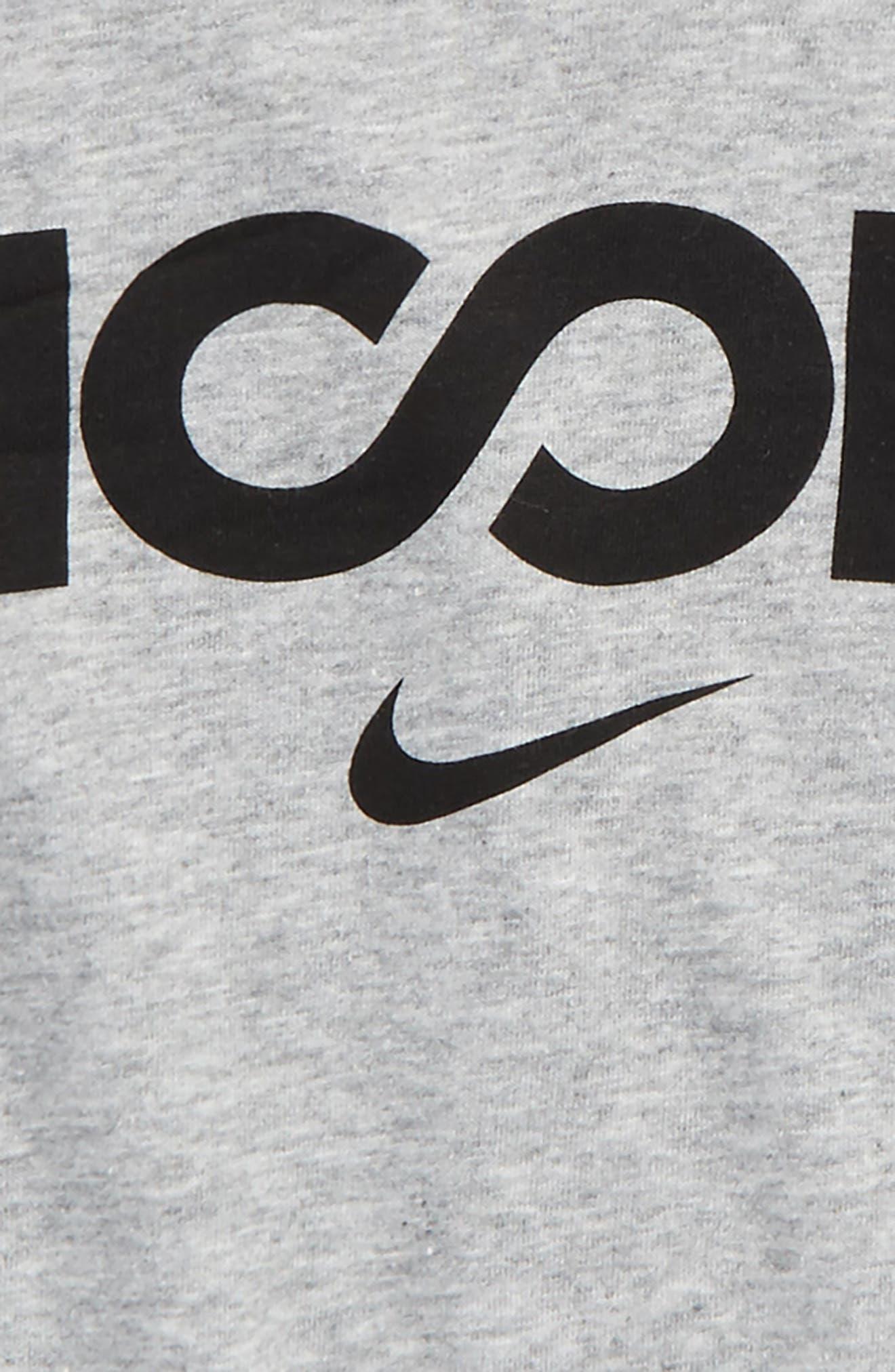 Alternate Image 2  - Nike Dry Hoops Graphic T-Shirt (Little Boys & Big Boys)