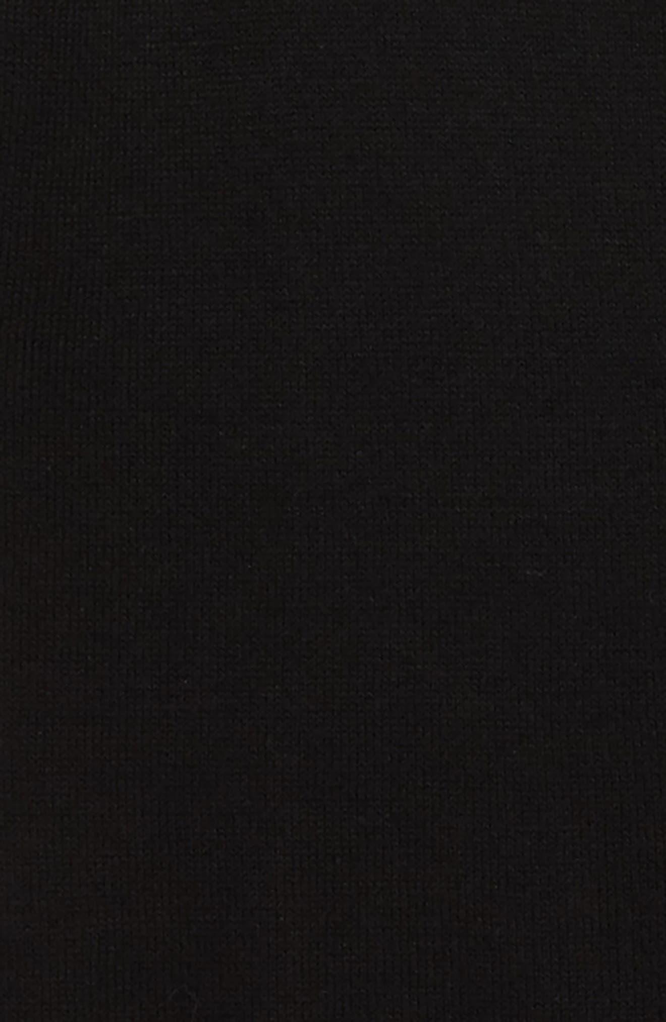 Jane Cotton Cardigan,                             Alternate thumbnail 2, color,                             Black