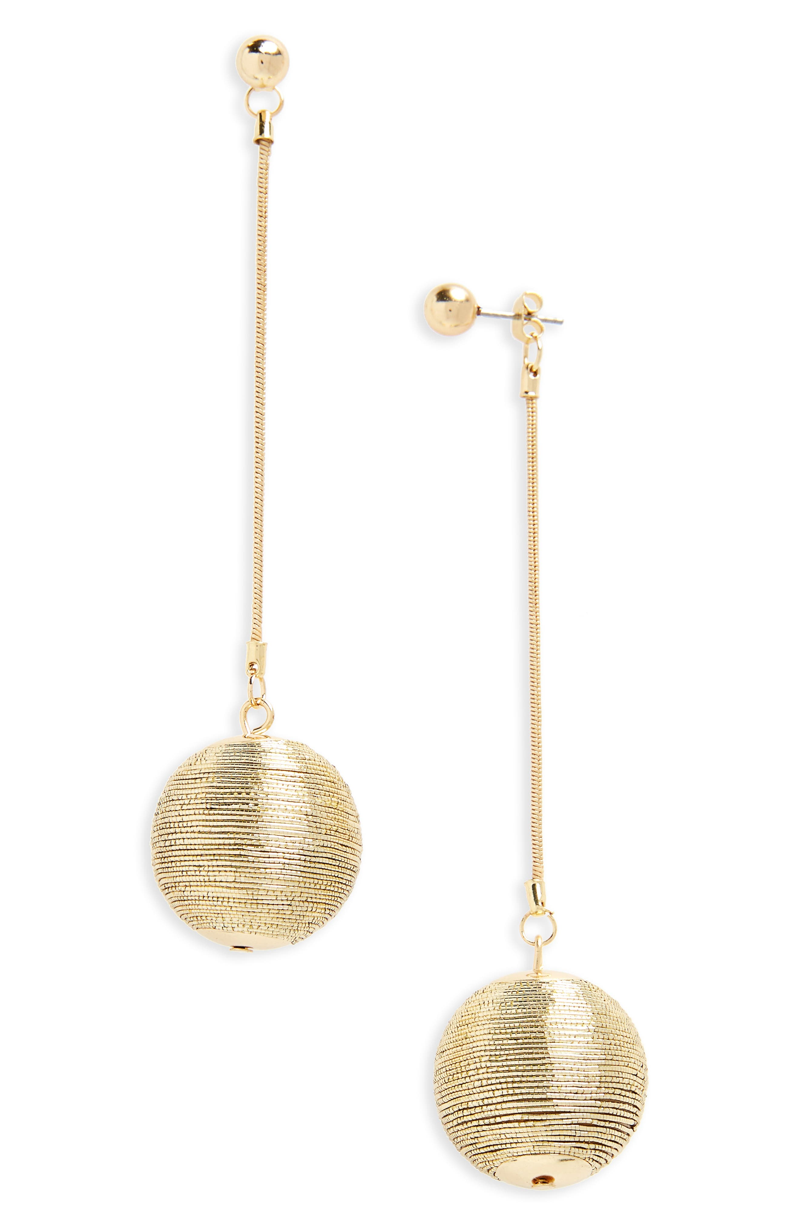 BP. Ball Drop Ear Jackets