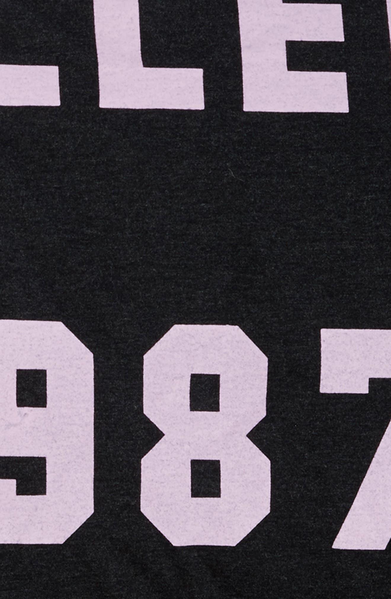 R.I.S.E. 74 Duvet Cover,                             Alternate thumbnail 3, color,                             Muted Black